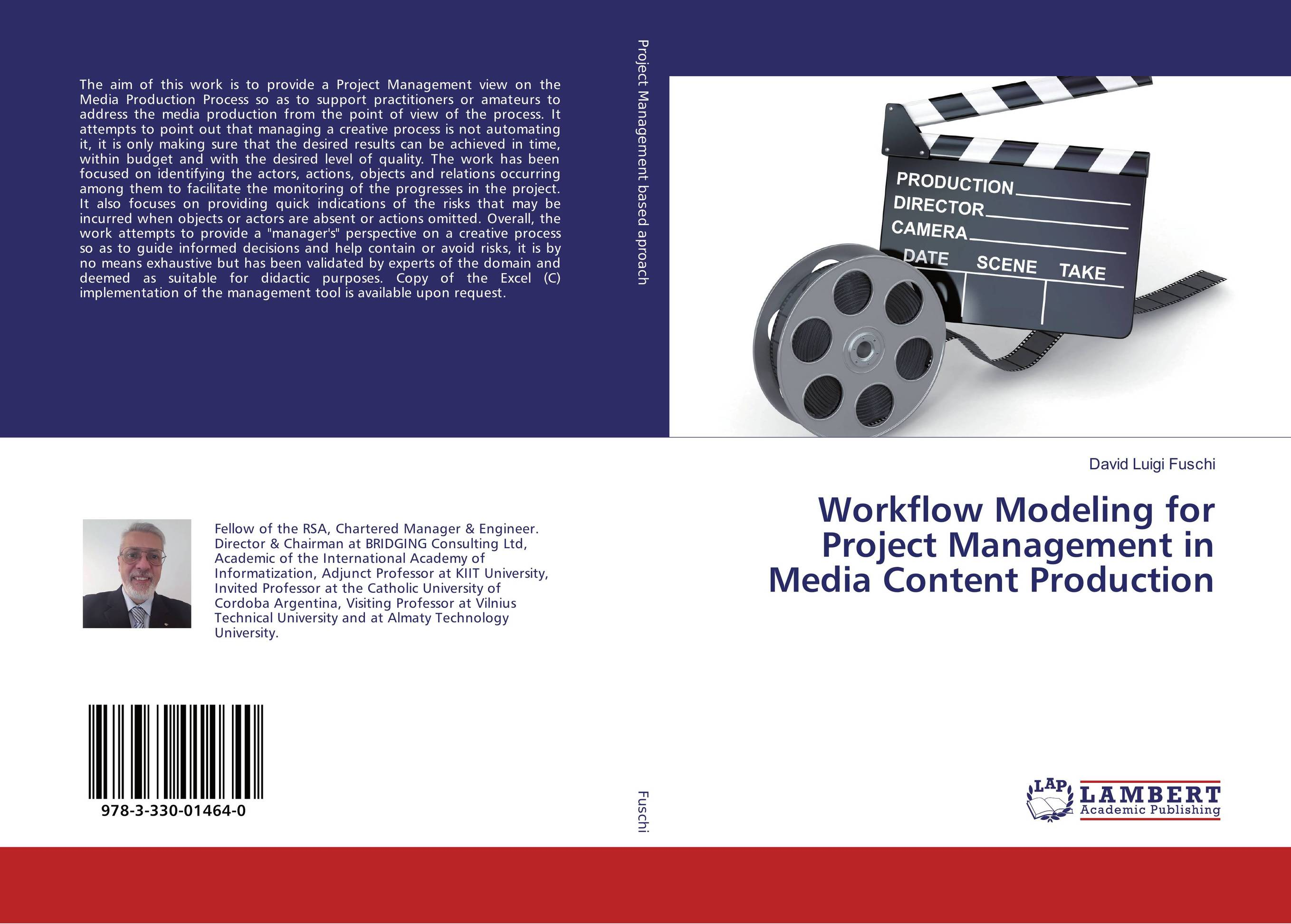 9783330014640 Workflow Modeling for Project Management in Media nt Production