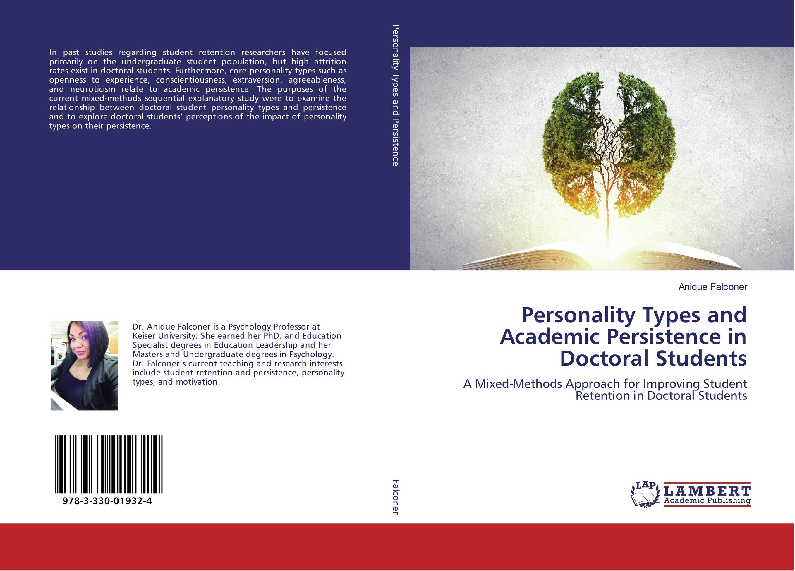 9783330019324 Personality Types and Academic Persistence in Doctoral Students