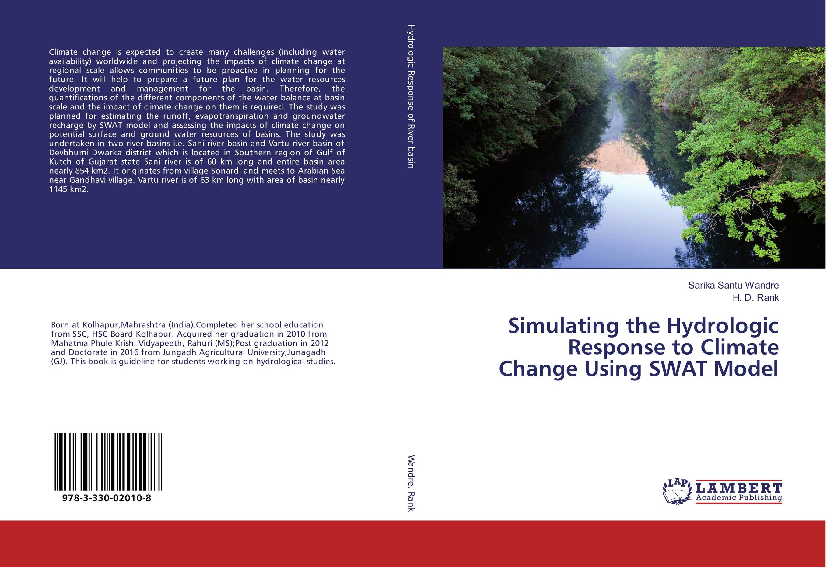 9783330020108 Simulating the Hydrologic Response to Climate Channg SWAT Model