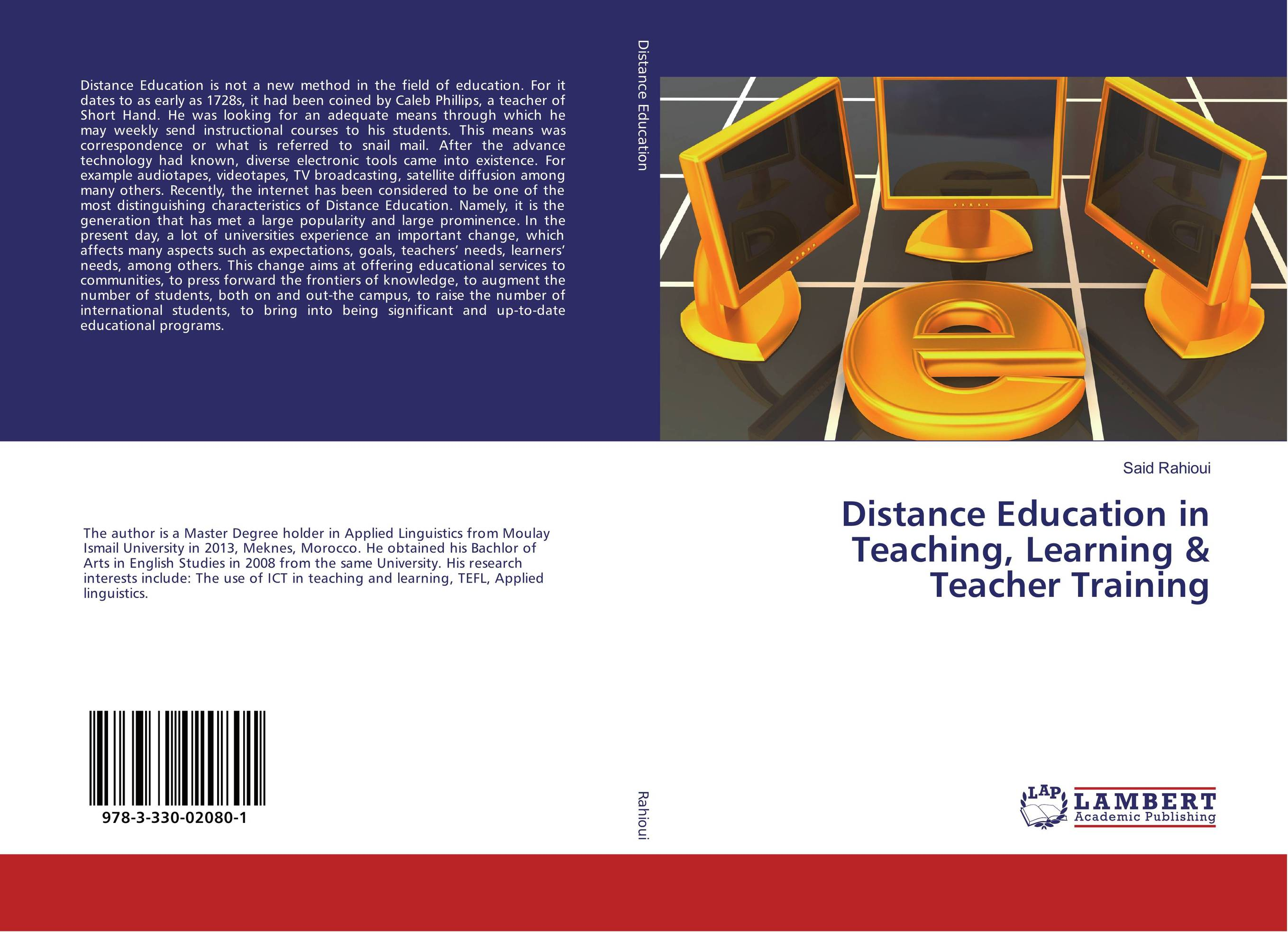 9783330020801 Distance Education in Teaching, Learning & Teacher Training Said