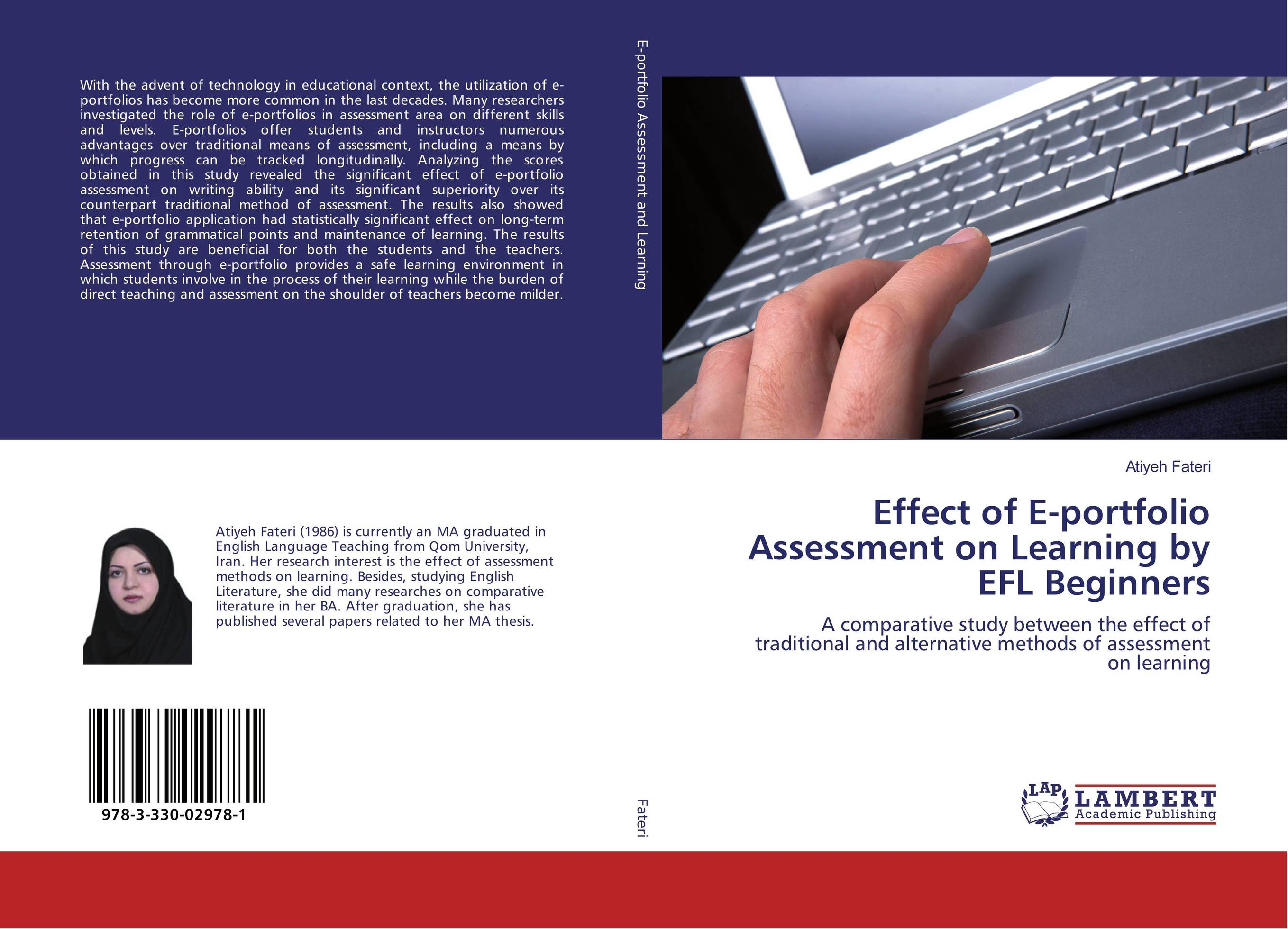 9783330029781 Effect of Eportfolio Assessment on Learning by EFL Beginners At