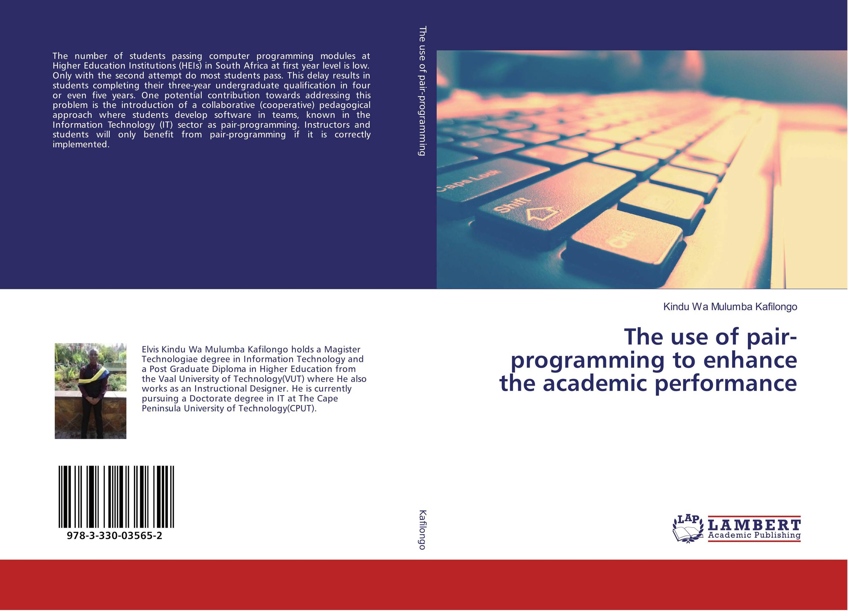 9783330035652 The use of pairprogramming to enhance the academic performance