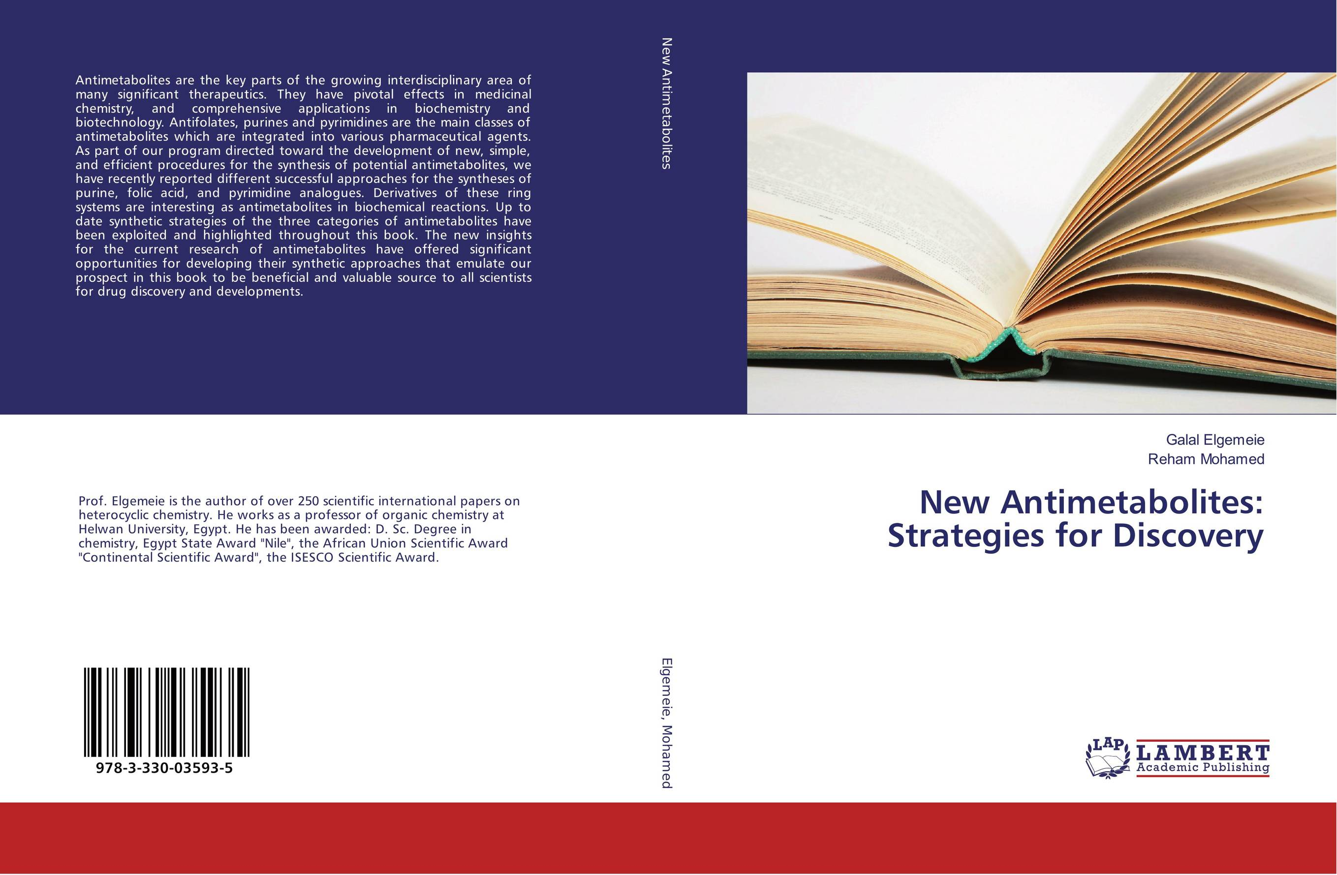 9783330035935 New Antimetabolites Strategies for Discovery Galal Elgemeie and