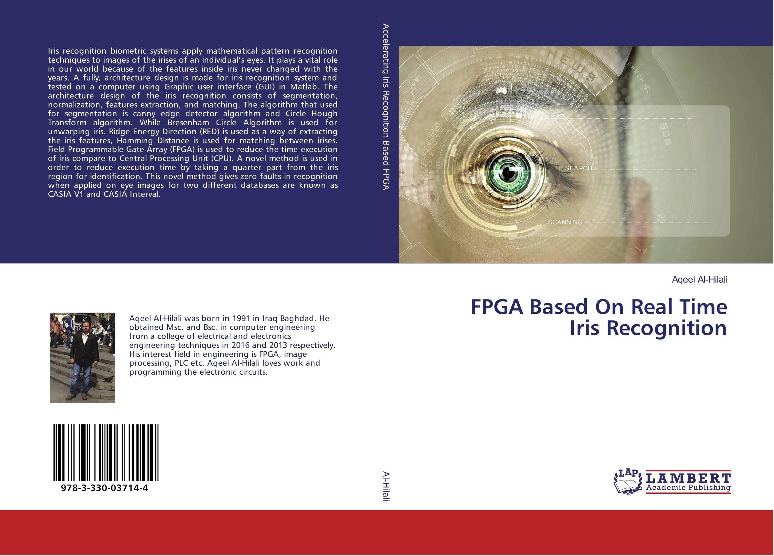 9783330037144 FPGA Based On Real Time Iris Recognition Aqeel AlHilali