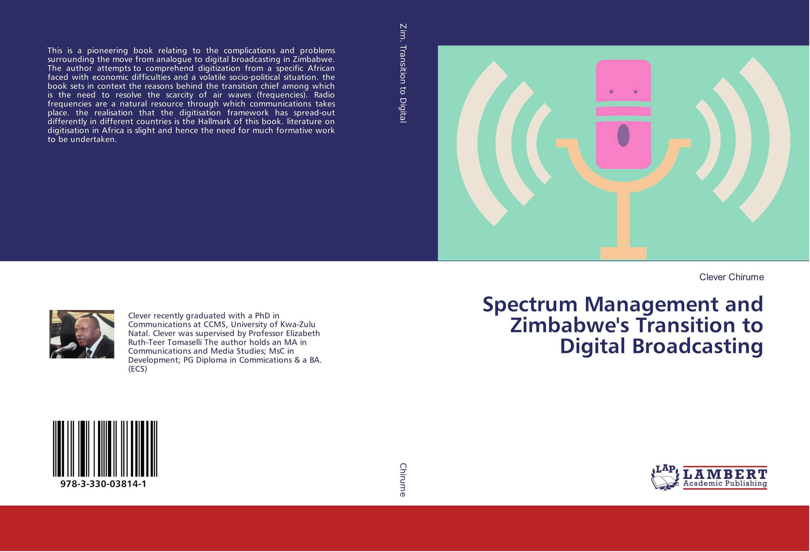 9783330038141 Spectrum Management and Zimbabwe's Transition to D Broadcasting