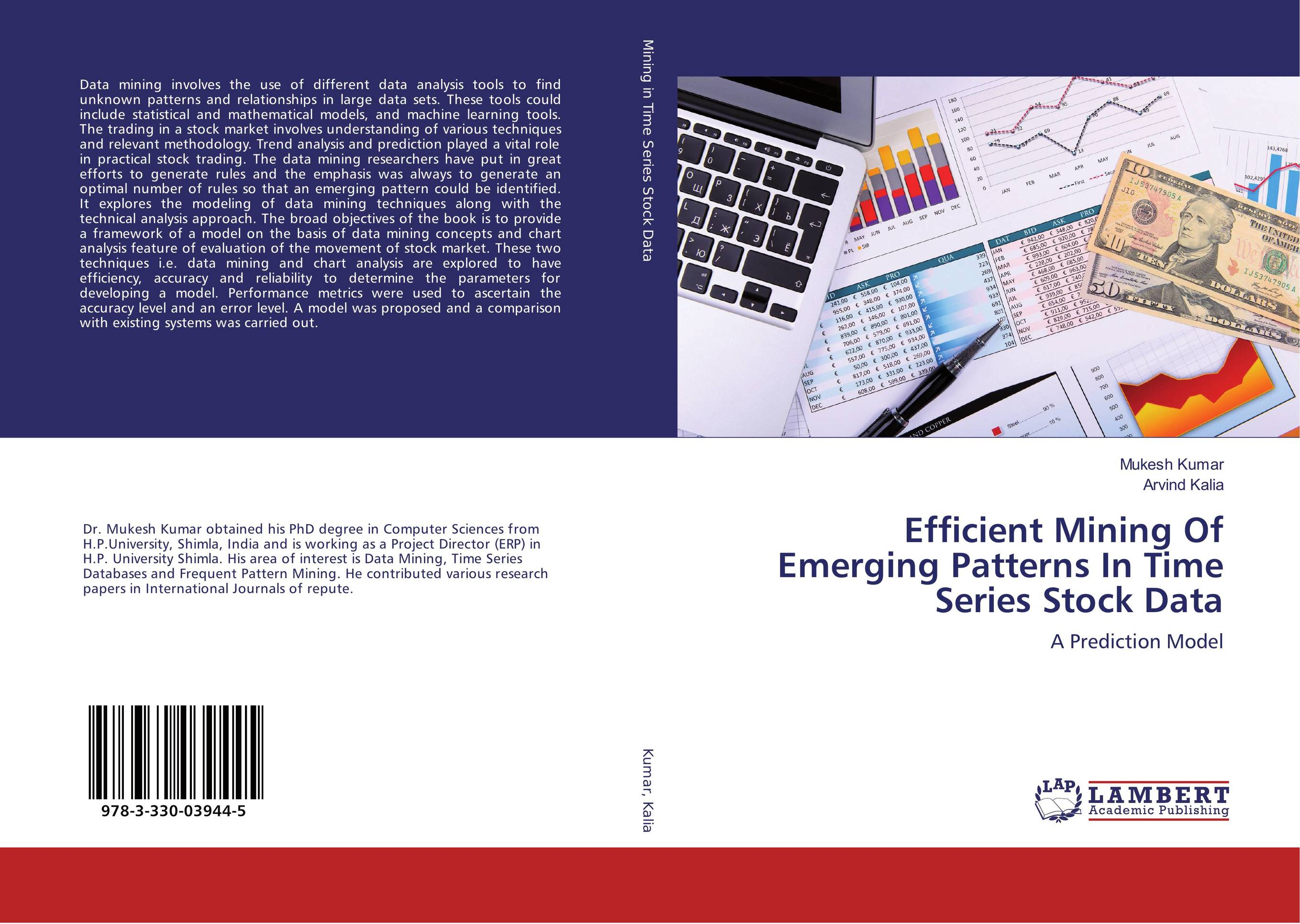 9783330039445 Efficient Mining Of Emerging Patterns In Time Series Stock Data