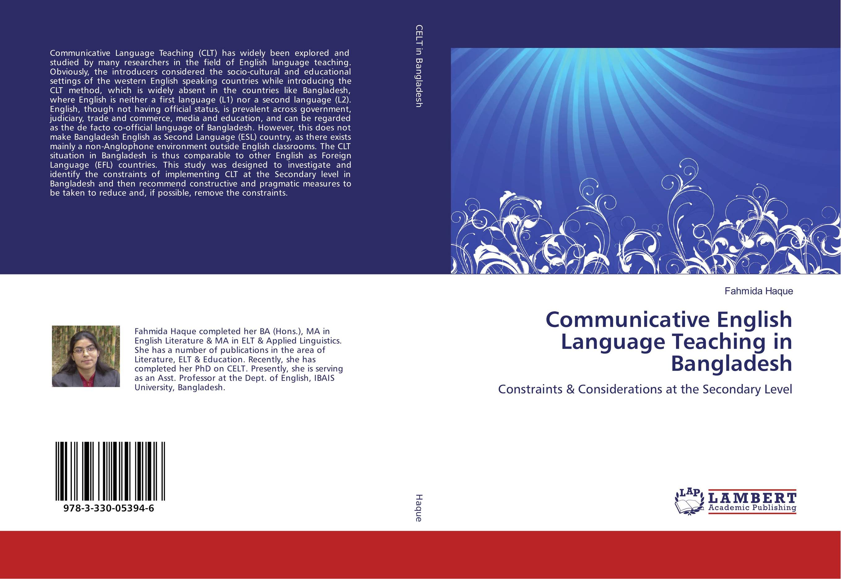 the communicative language teaching clt english language essay English language and applied linguistics postgraduate distance learning programmes essay & dissertation declaration of authorship  english language teaching esp – english for specific purposes fl – foreign language l1 – first language  communicative language teaching (clt) can be considered the most popular and desirable.