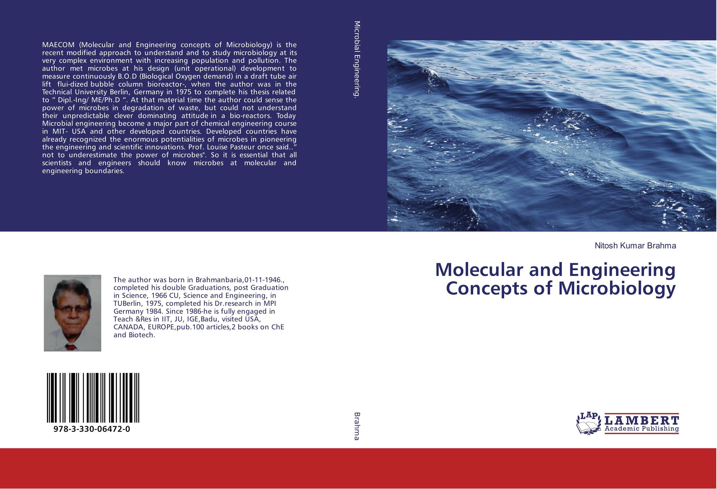 9783330064720 Molecular and Engineering Concepts of Microbiology Nitosh Kumar