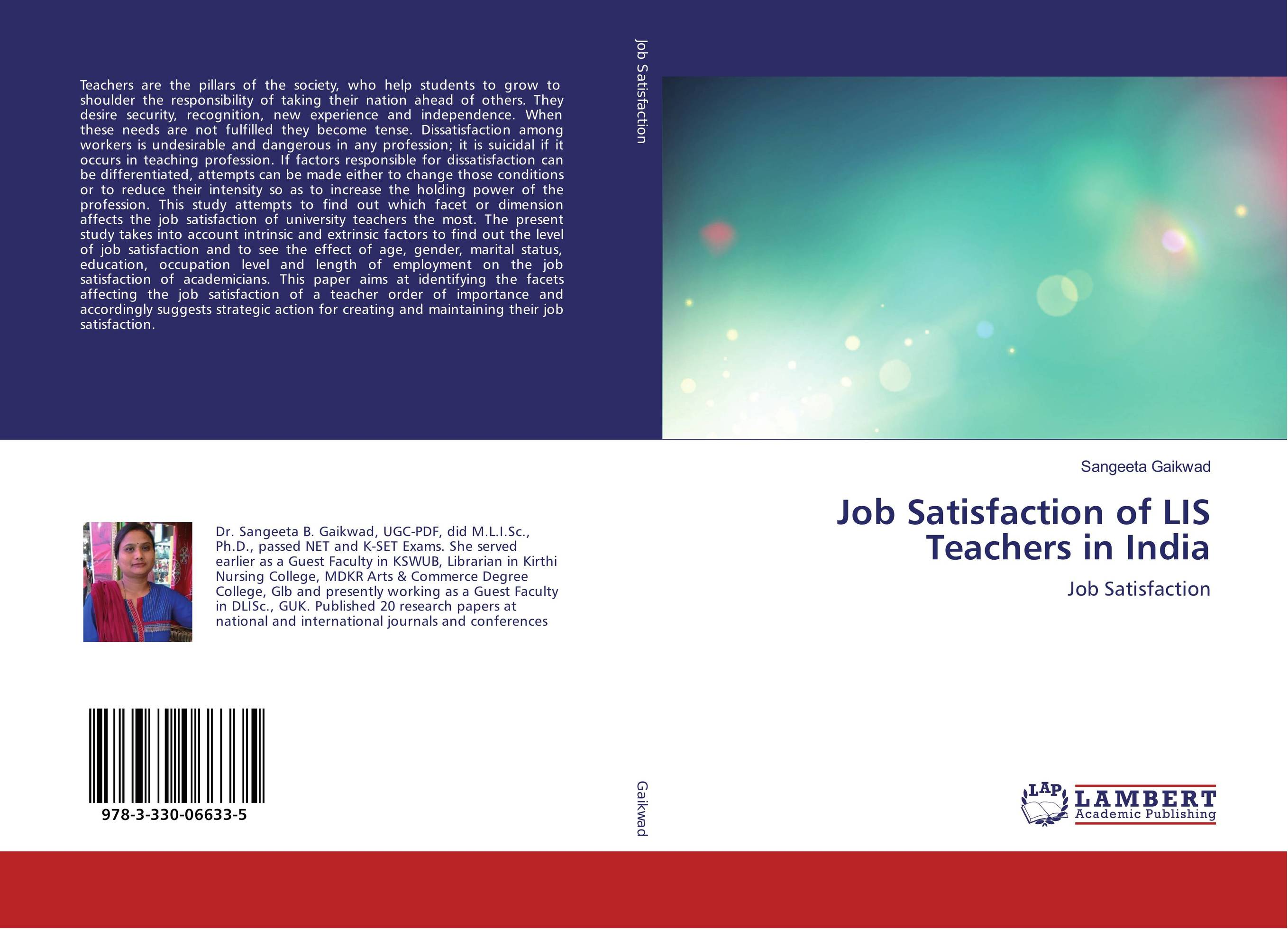 factors affecting job satisfaction research papers Factors affecting employee job satisfaction of pharmaceutical sector  this research paper highlights some of these  showed that compensation was ranked as the.