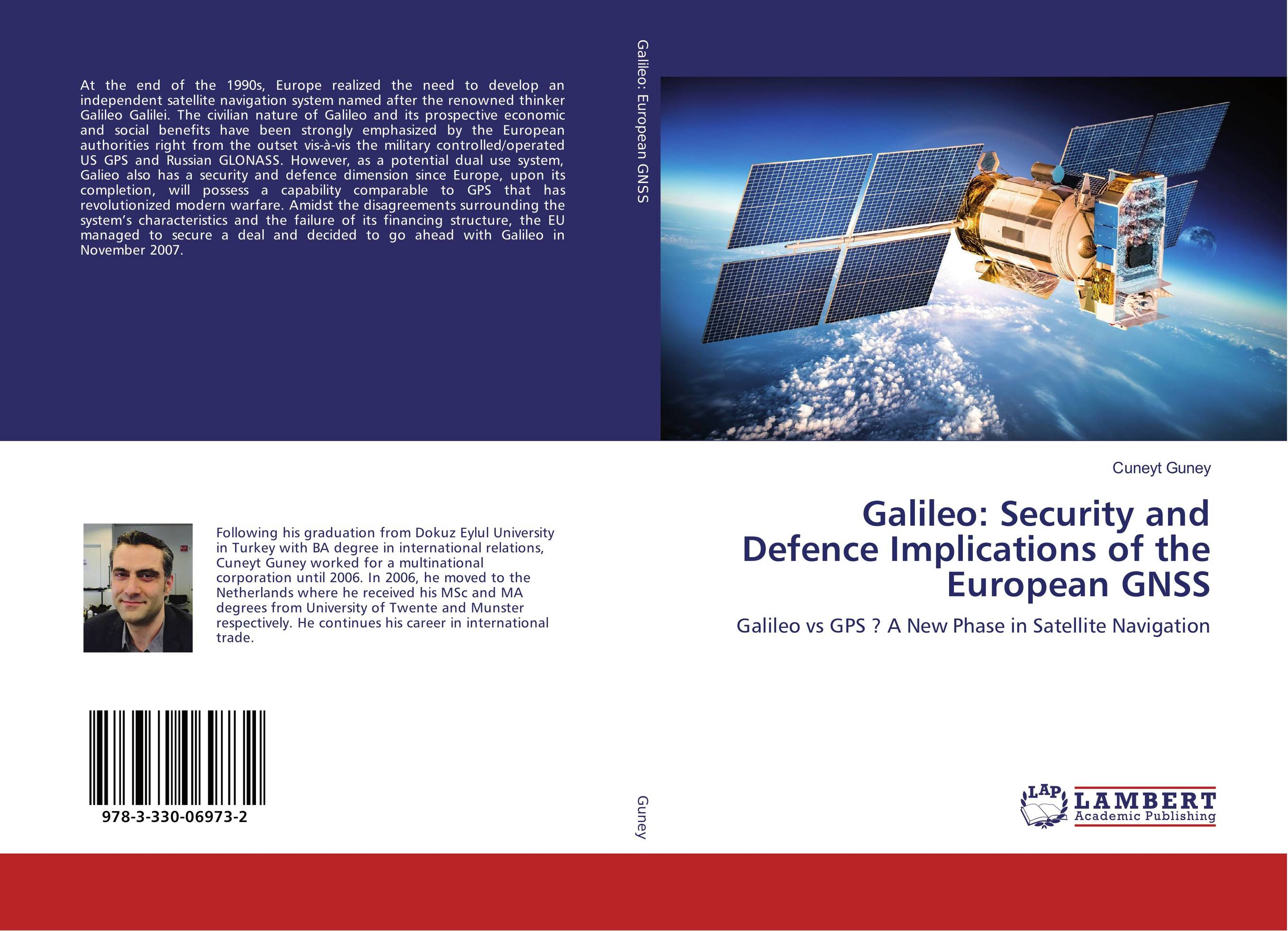 9783330069732 Galileo Security and Defence Implications of the European GNSS