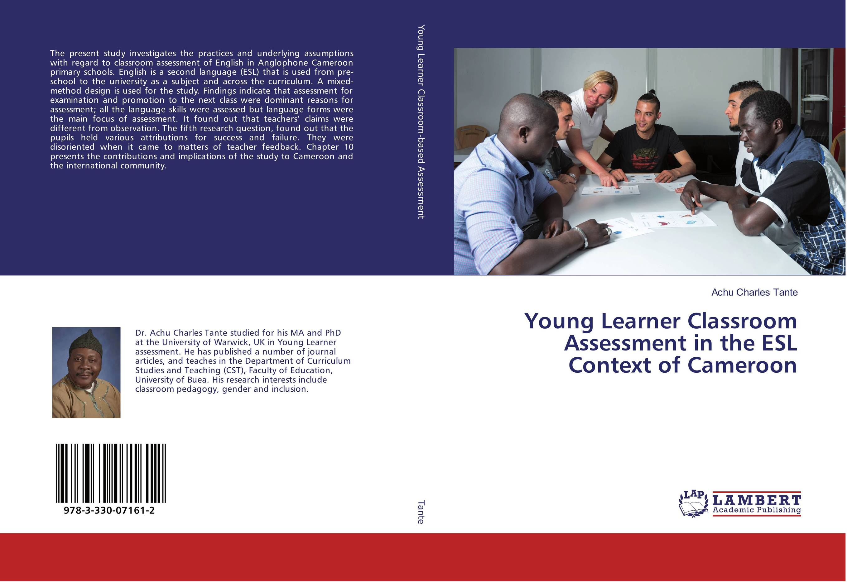 9783330071612 Young Learner Classroom Assessment in the ESL Contt of Cameroon
