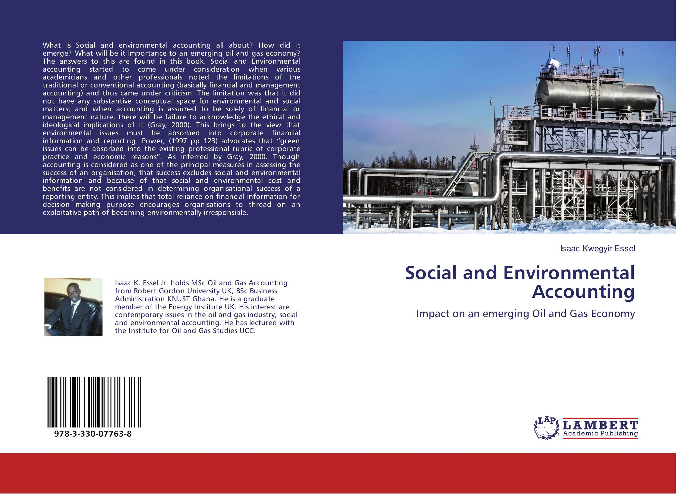environmental accounting It contains 80 key articles, selected from across the literature on social and environmental accounting, reprinted together for the first time compiled and introduced by an editorial board of wide experience and renown in the professional, governmental and academic spheres, this work is an.