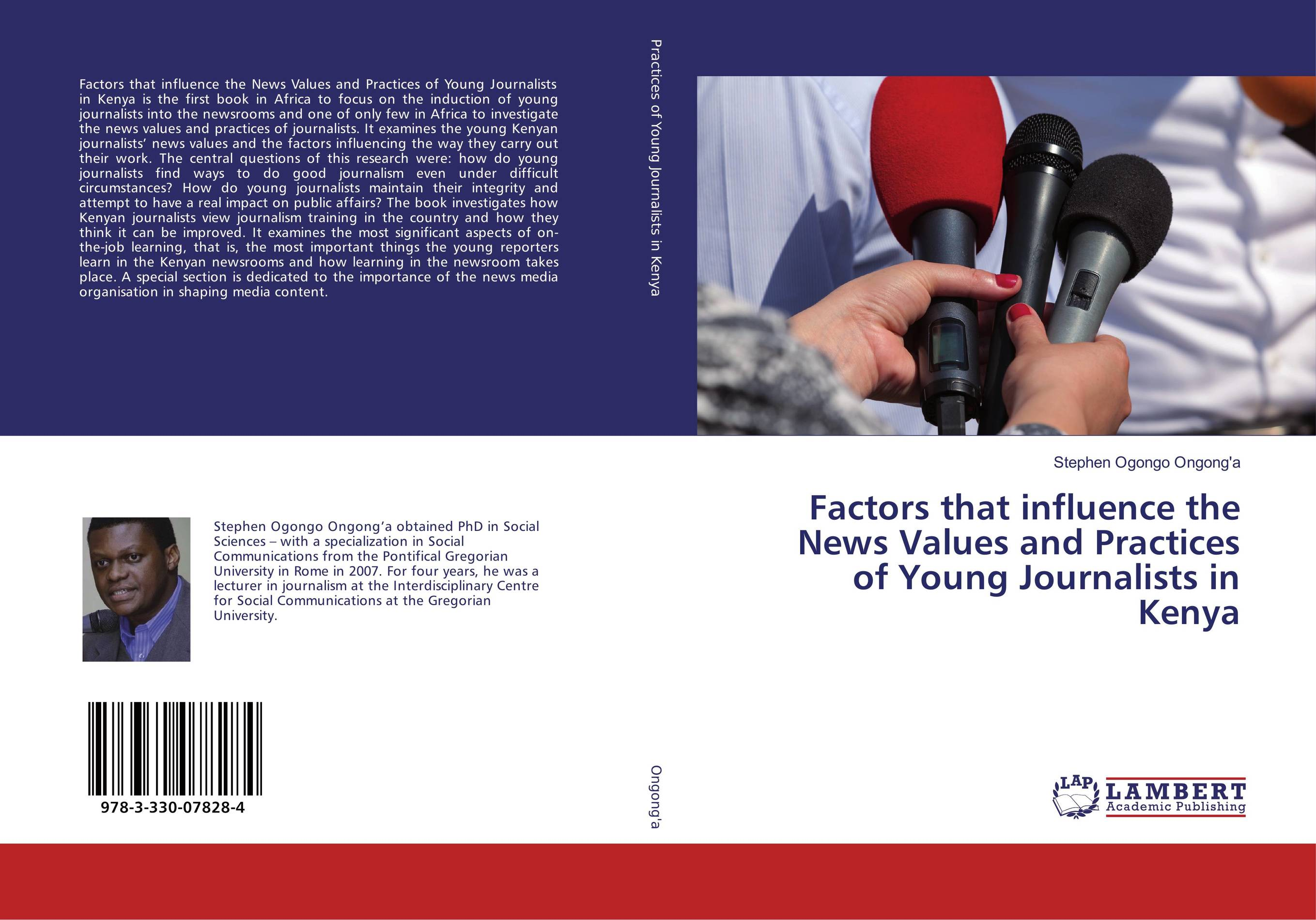 9783330078284 Factors that influence the News Values and Practicists in Kenya