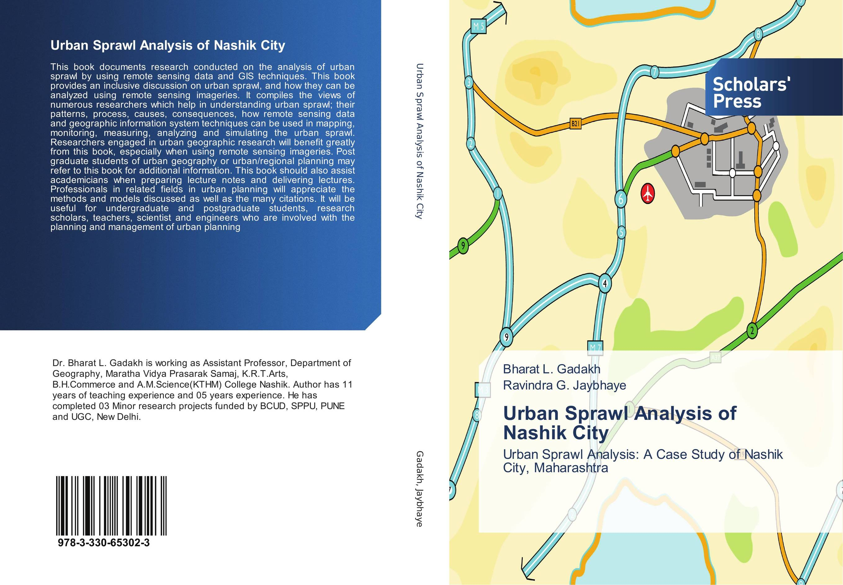 9783330653023 Urban Sprawl Analysis of Nashik City Bharat L. Gadakh and Ravind