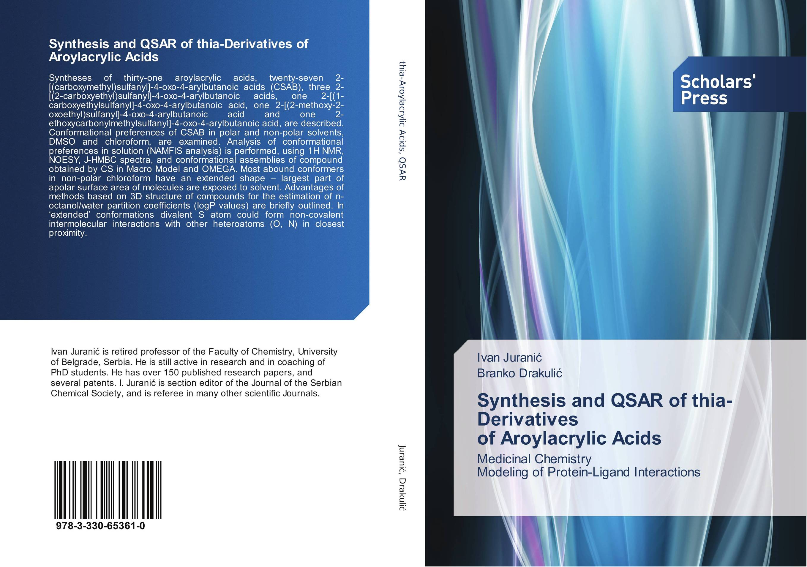 9783330653610 Synthesis and QSAR of thiaDerivatives of Aroylacrylic Acids Iva