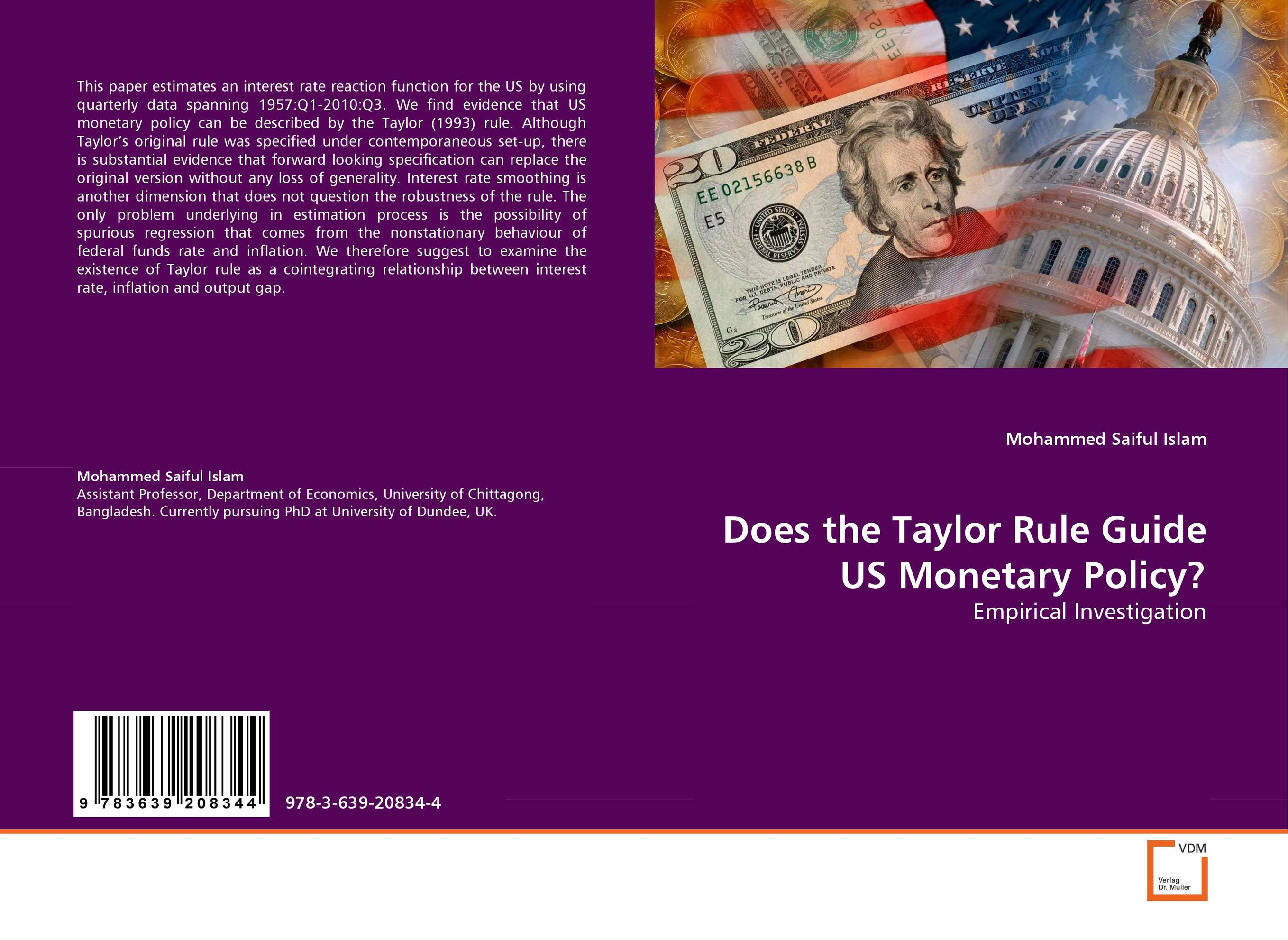 an analysis united states of monetary policy Monetary policy in the united states is the responsibility of the: federal reserve the fundamental objective of monetary policy is to assist the economy in achieving:  the most frequently used monetary device for achieving price stability is: open-market operations.