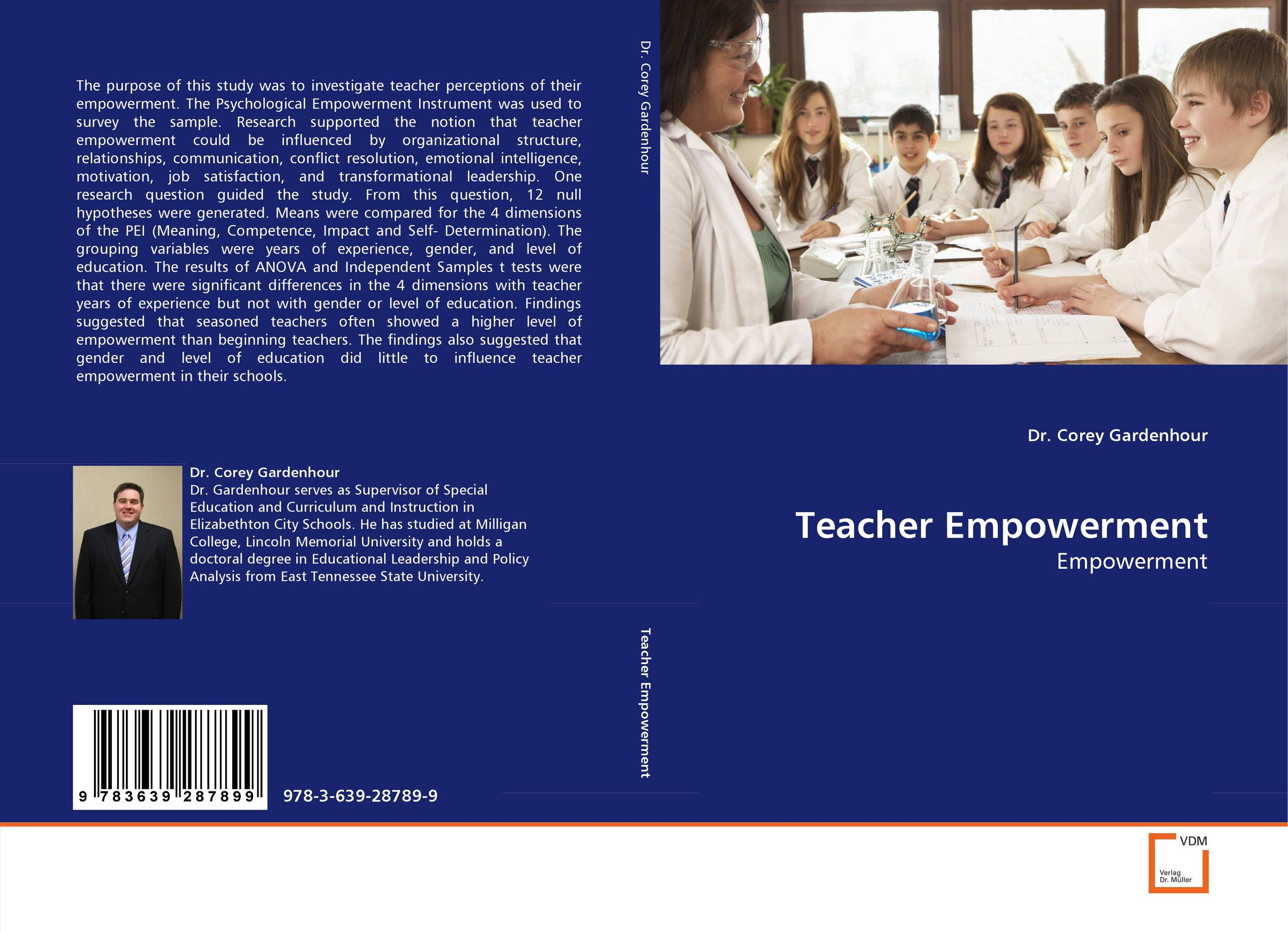 thesis on teacher empowerment Abstract of thesis entitled teacher participation and empowerment: the cases of hong kong and taiwan submitted by wong wai kwok for the degree of doctor of philosophy.