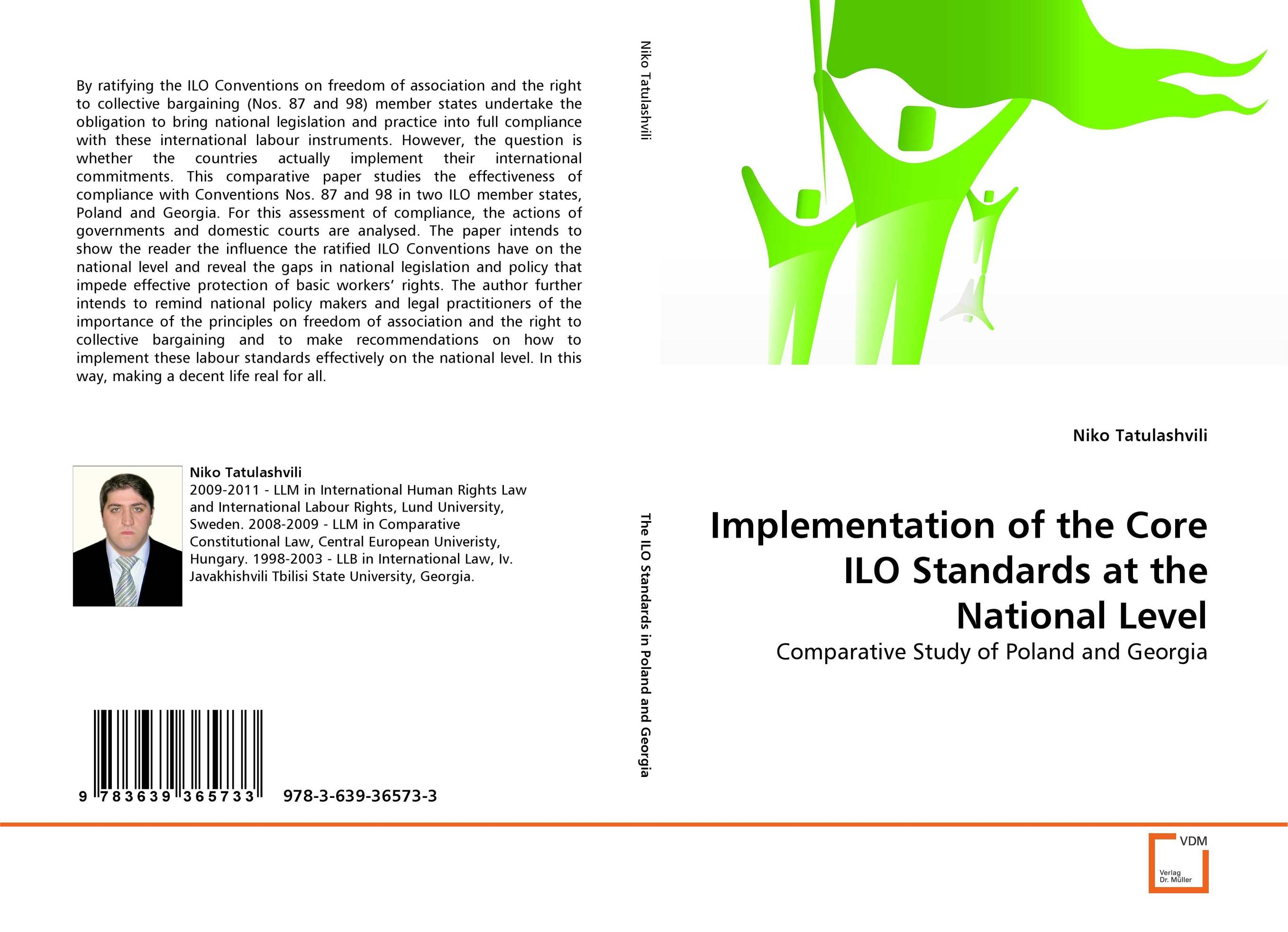 9783639365733 Implementation of the Core ILO Standards at the National Level N