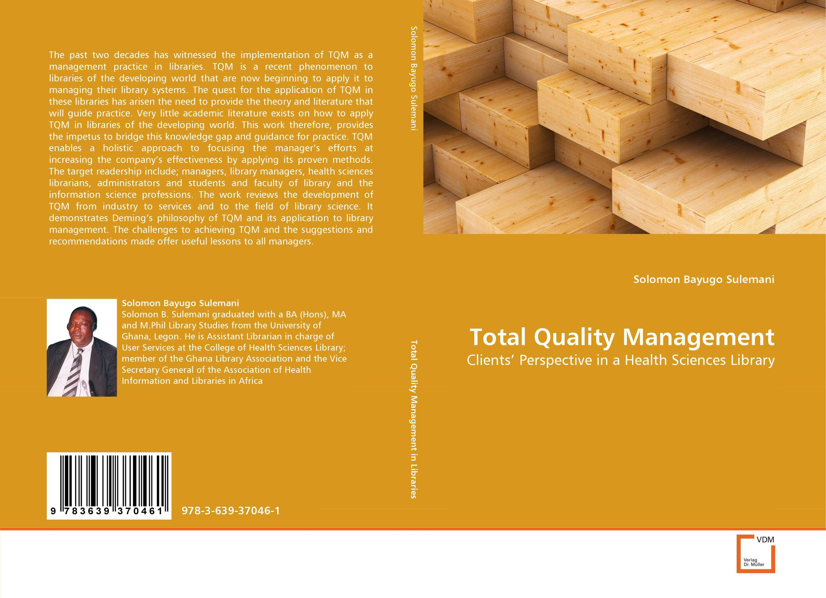 quality management in academic libraries Total quality management in the academic library s siraj nissa begum library philosophy and practice, vol 5 no 2 (spring 2003) 1 library philosophy and practice vol 5, no 2 (spring 2003.