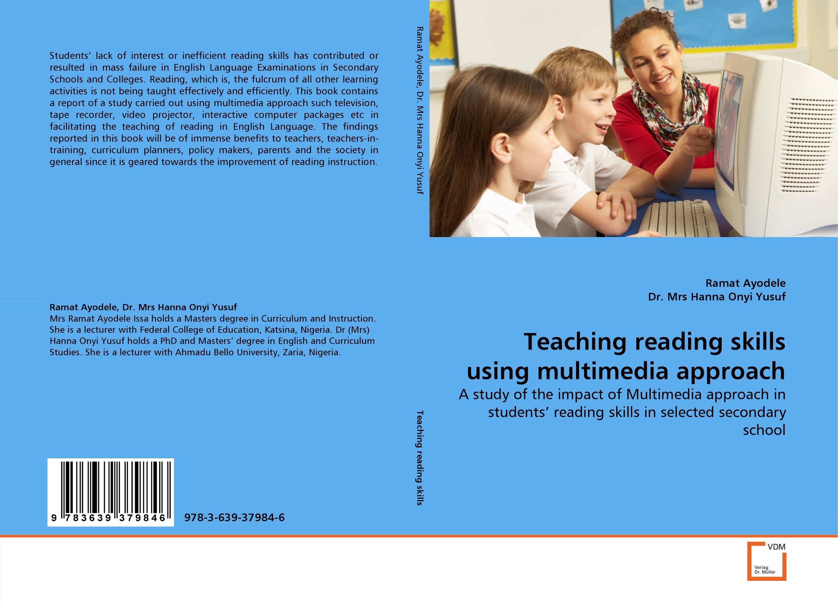 9783639379846 Teaching reading skills using multimedia approach Ramat Ayodele