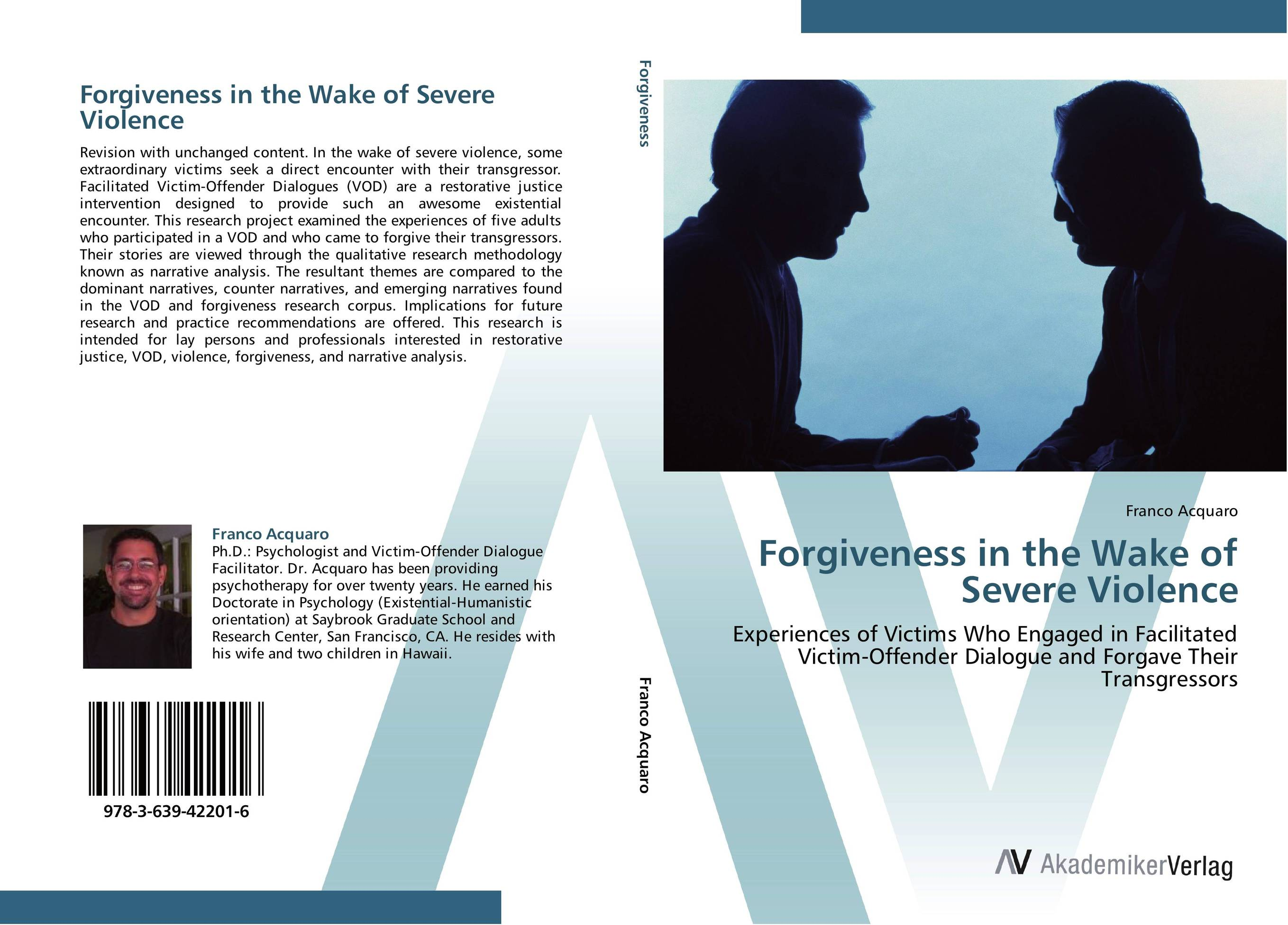 a personal narrative about forgiveness The appropriate fact that an individual inspires both collections plays into the common conclusion, that forgiveness is an individuated process of coming to terms with personal traumas, and collective forgiveness with all of its political ramifications is an elusive goal.