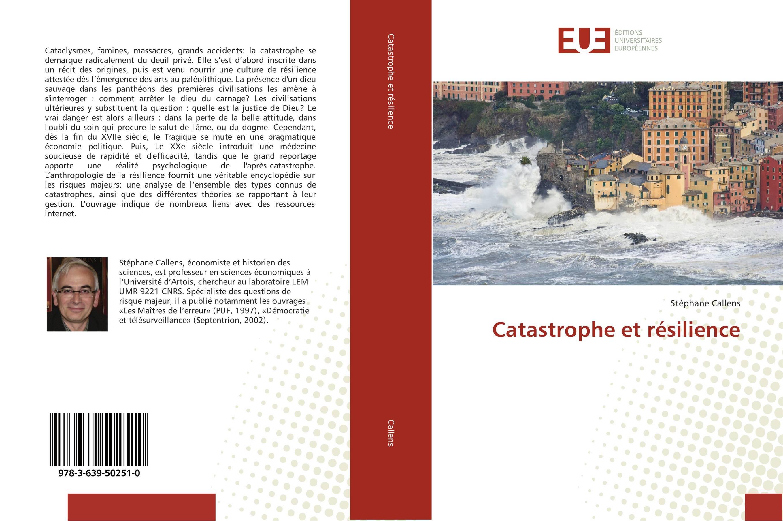 9783639502510 Catastrophe et résilience - Stéphane Callens
