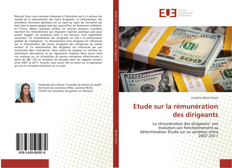 9783639505979 Etude sur la rémunération des dirigeants - Caroline Revel Chion