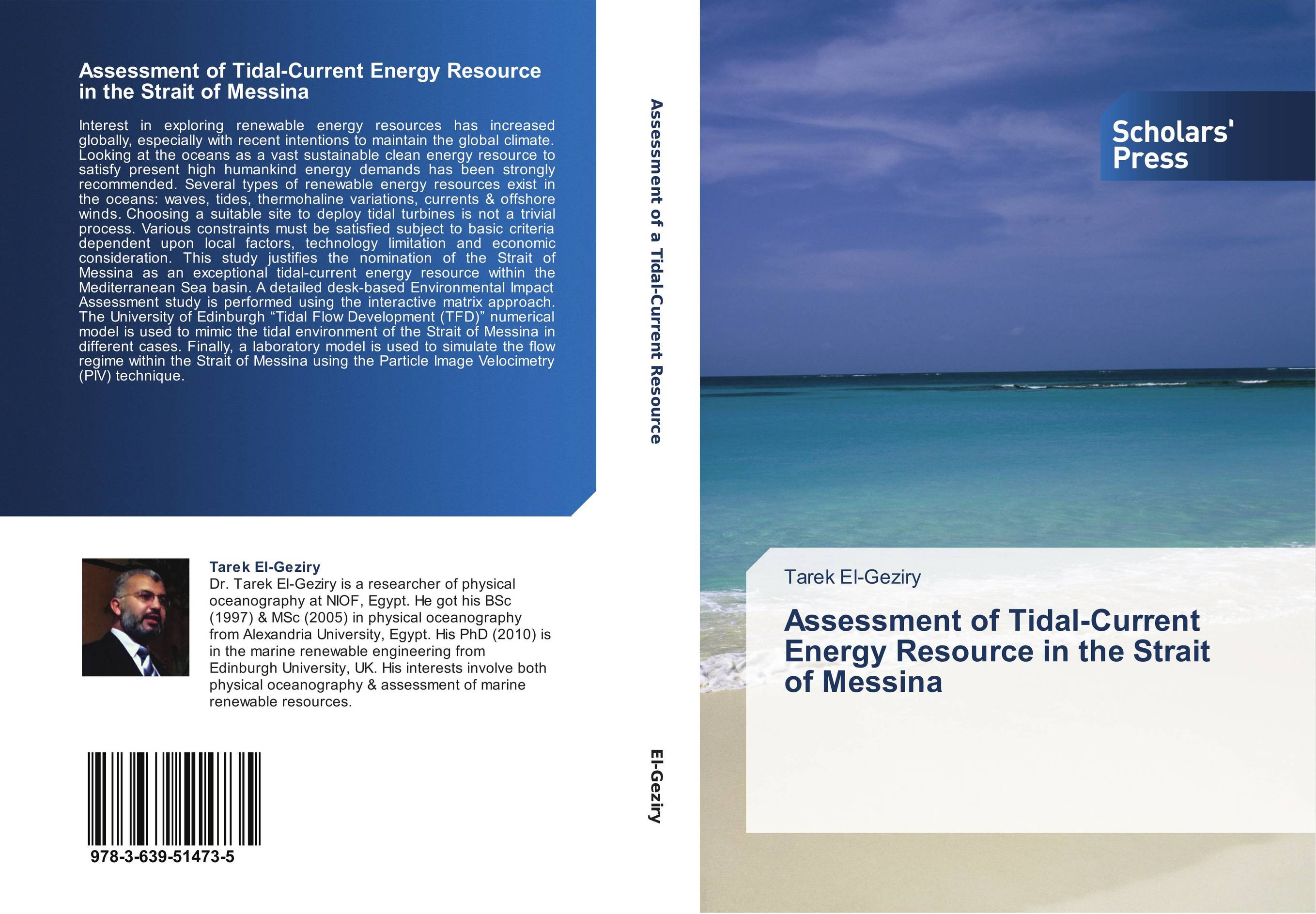 9783639514735 Assessment of TidalCurrent Energy Resource in theit of Messina