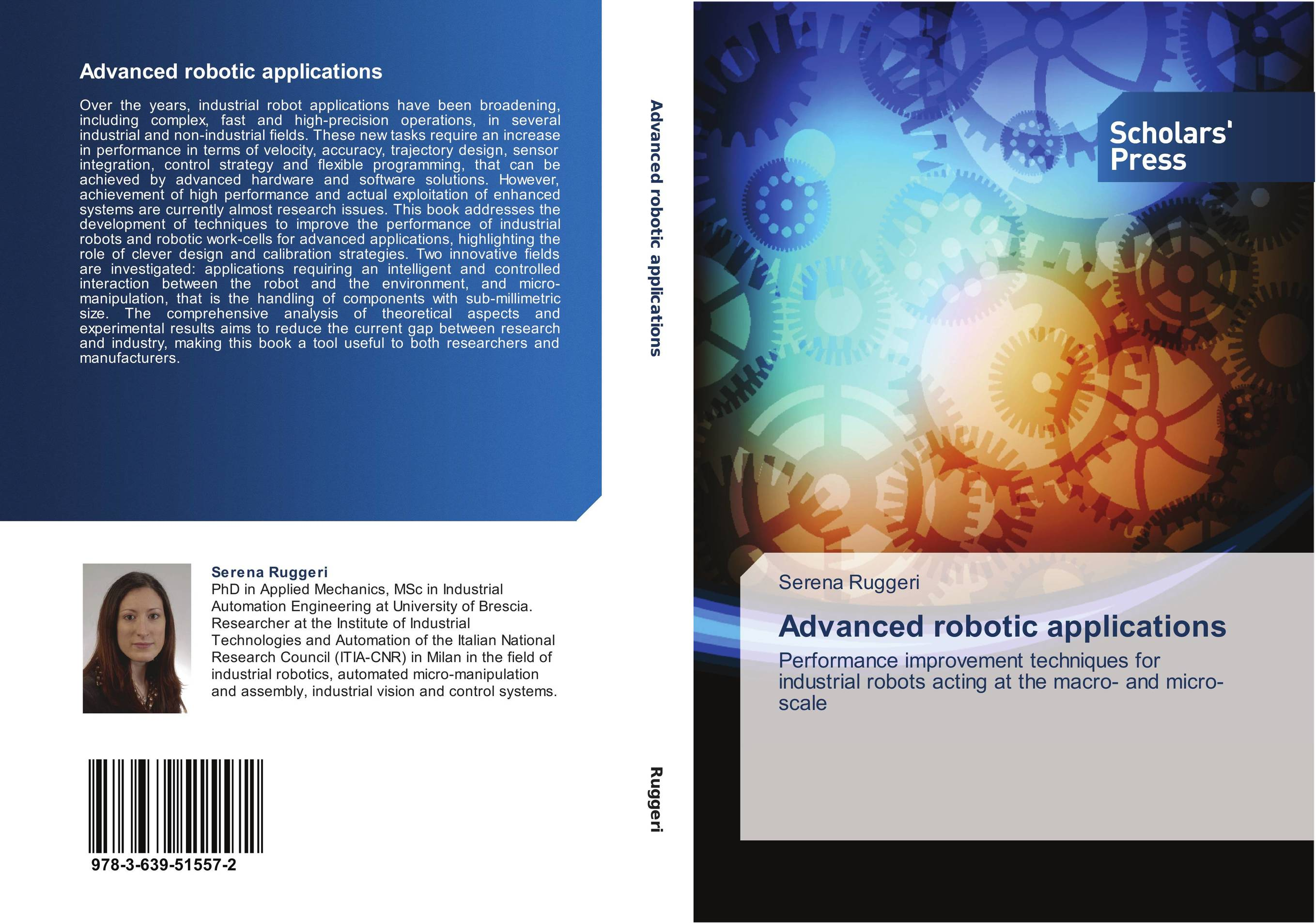 9783639515572 Advanced robotic applications Serena Ruggeri