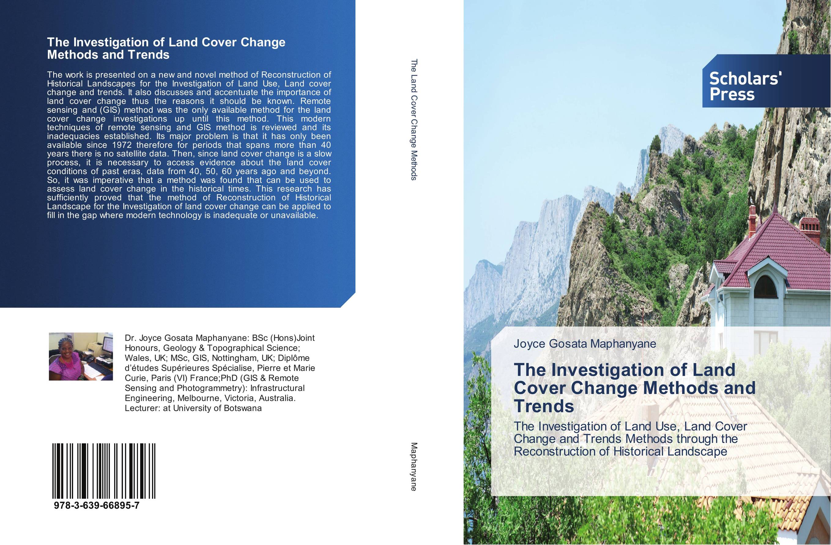 9783639668957 The Investigation of Land Cover Change Methods and Trends Joyce