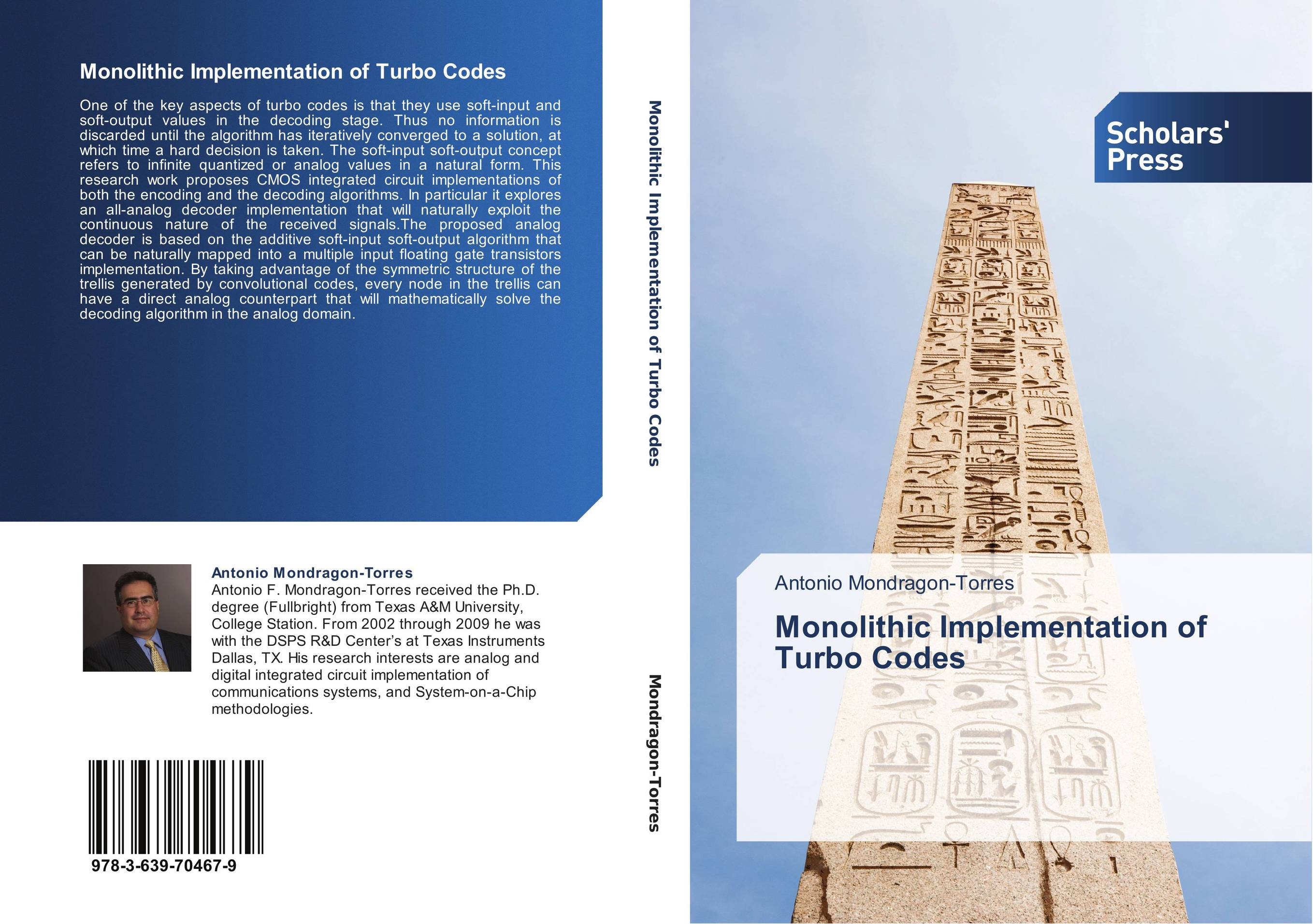 9783639704679 Monolithic Implementation of Turbo Codes Antonio MondragonTorre