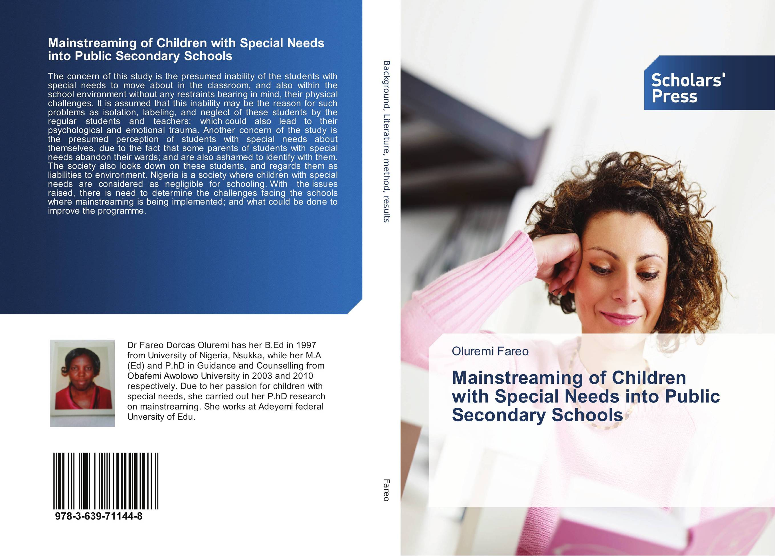psychology of children with special needs Whereas the inclusion of children with special needs in regular classrooms has gained increasing advocacy, teachers' attitudes vary previous studies examining teacher attitudes have focused on primary and secondary schools in the western world, and little is known about early childhood settings.