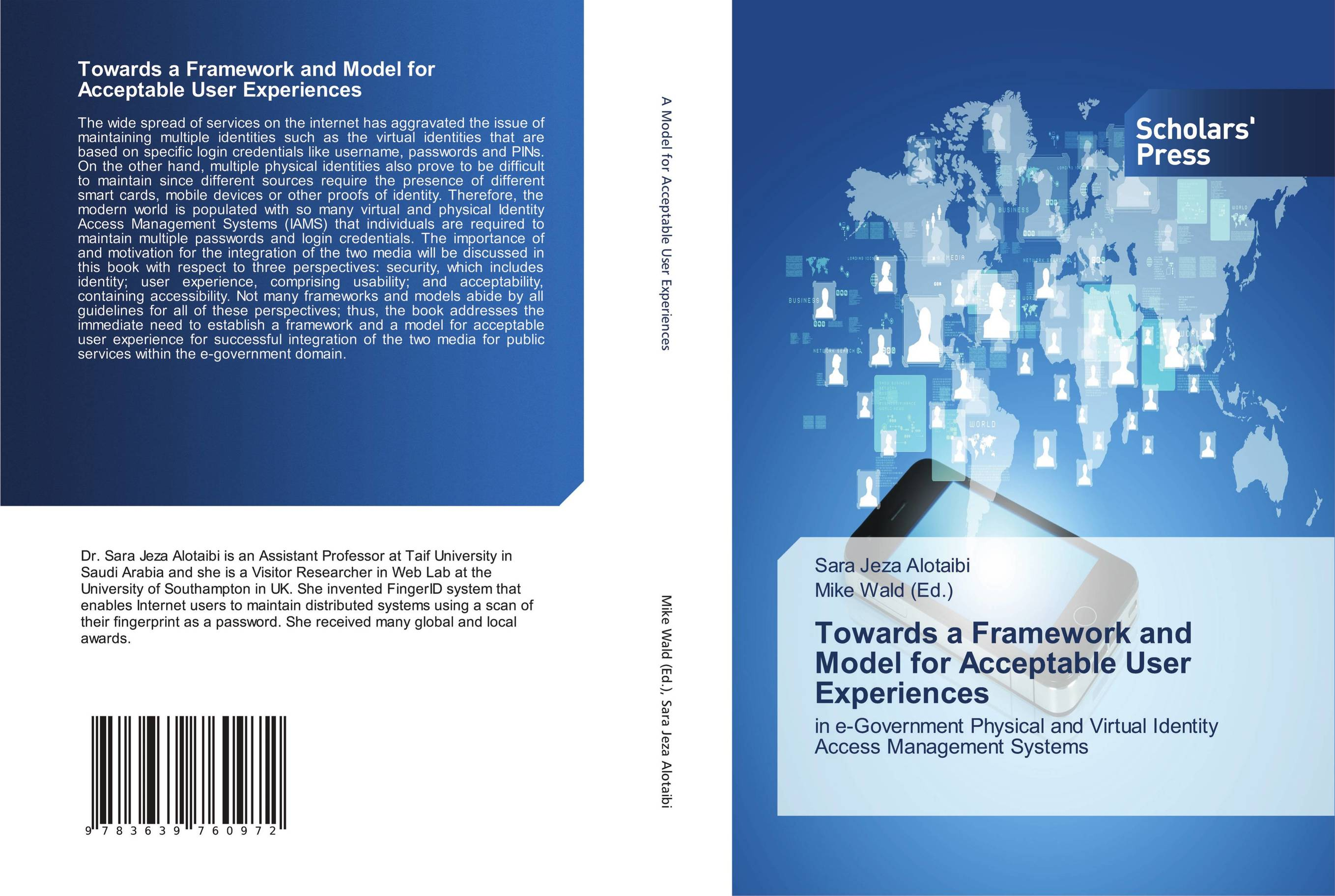 9783639760972 Towards a Framework and Model for Acceptable User Experiences Sa