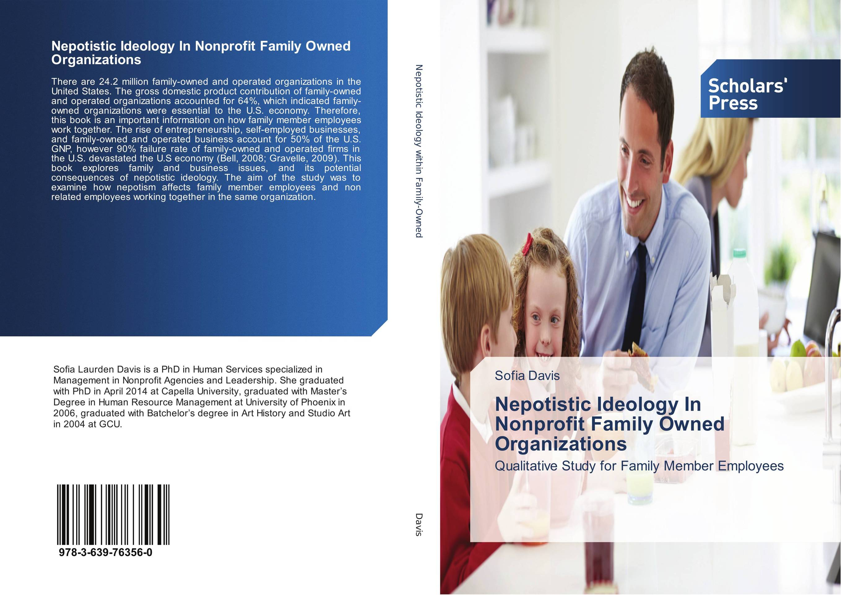 9783639763560 Nepotistic Ideology In Nonprofit Family Owned Organizations Sofi