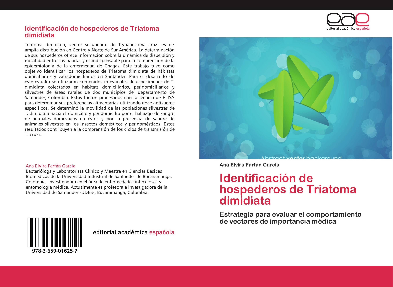 Identificación de hospederos de Triatoma dimidiata
