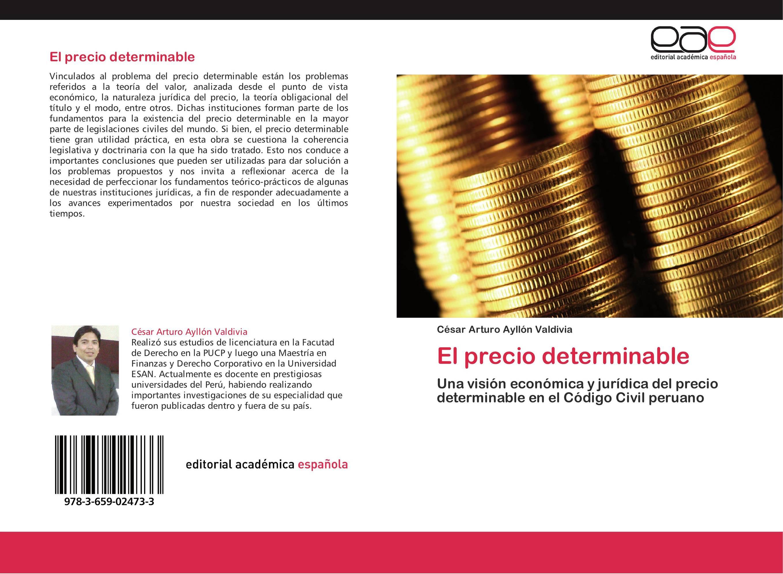 El precio determinable :: Librería Agrícola Jerez