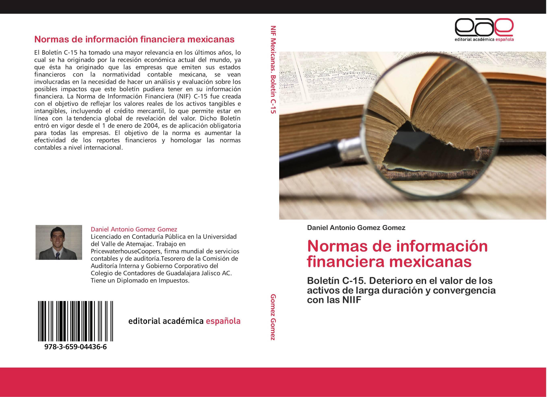 Normas de información financiera mexicanas
