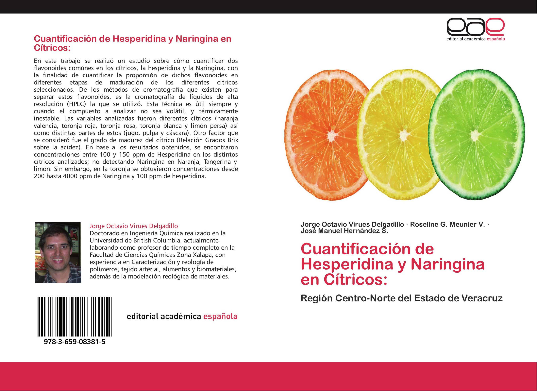 Cuantificación de Hesperidina y Naringina en Cítricos: :: Librería ...