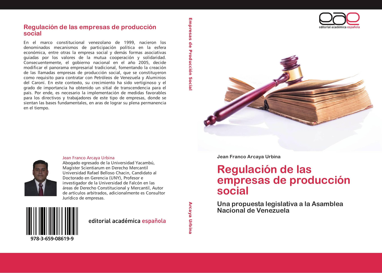 Regulación de las empresas de producción social :: Librería Agrícola ...
