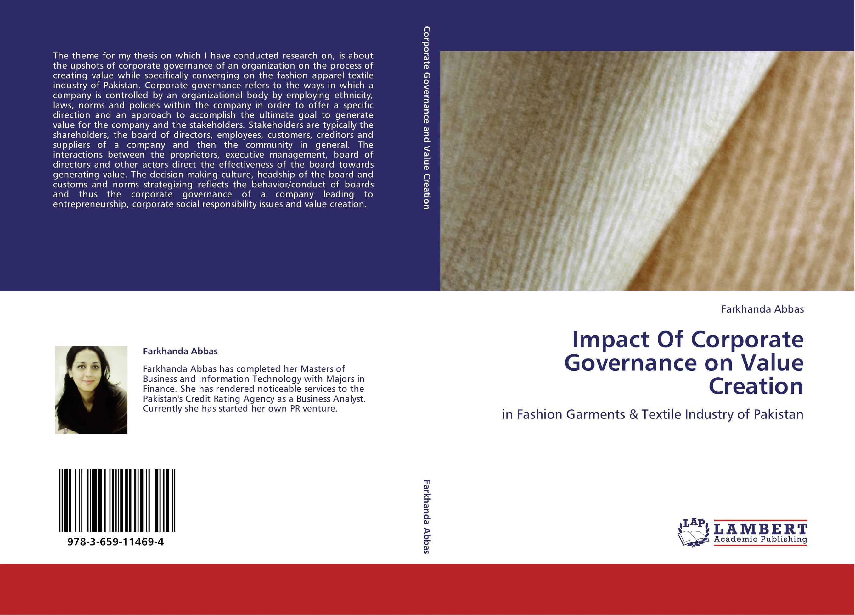 thesis on corporate governance and firm performance Whilst, five of the essays dwell on corporate governance and firm attributes, one considers determinants of board size and composition by using data from ghana and the last essay explores how corporate governance and stock market development affect economic growth.