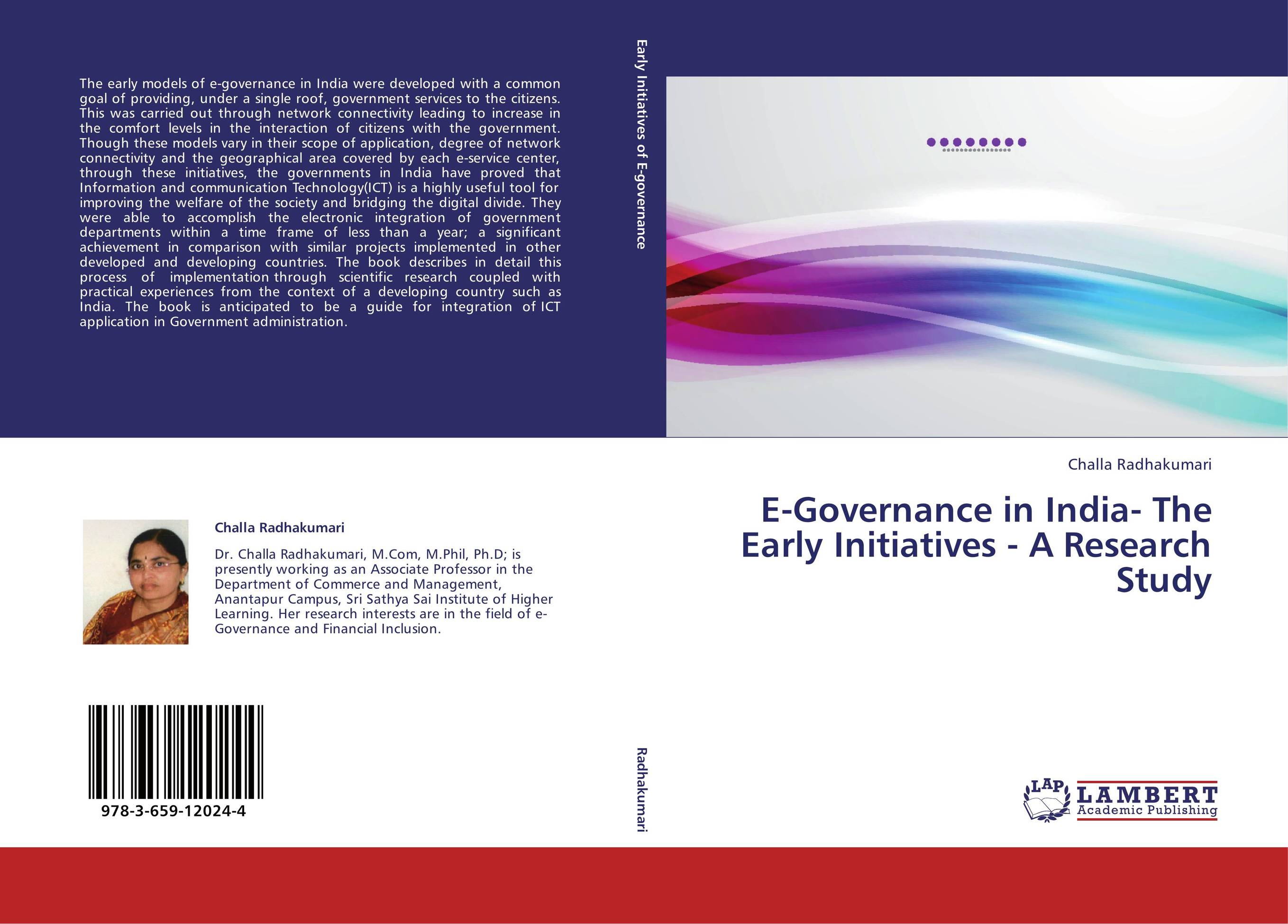 thesis on e-governance in india Electronic government has become one of the most important issues in the transformation of the public sector in many countries and so new dispensation of e-governance requires new set of laws.