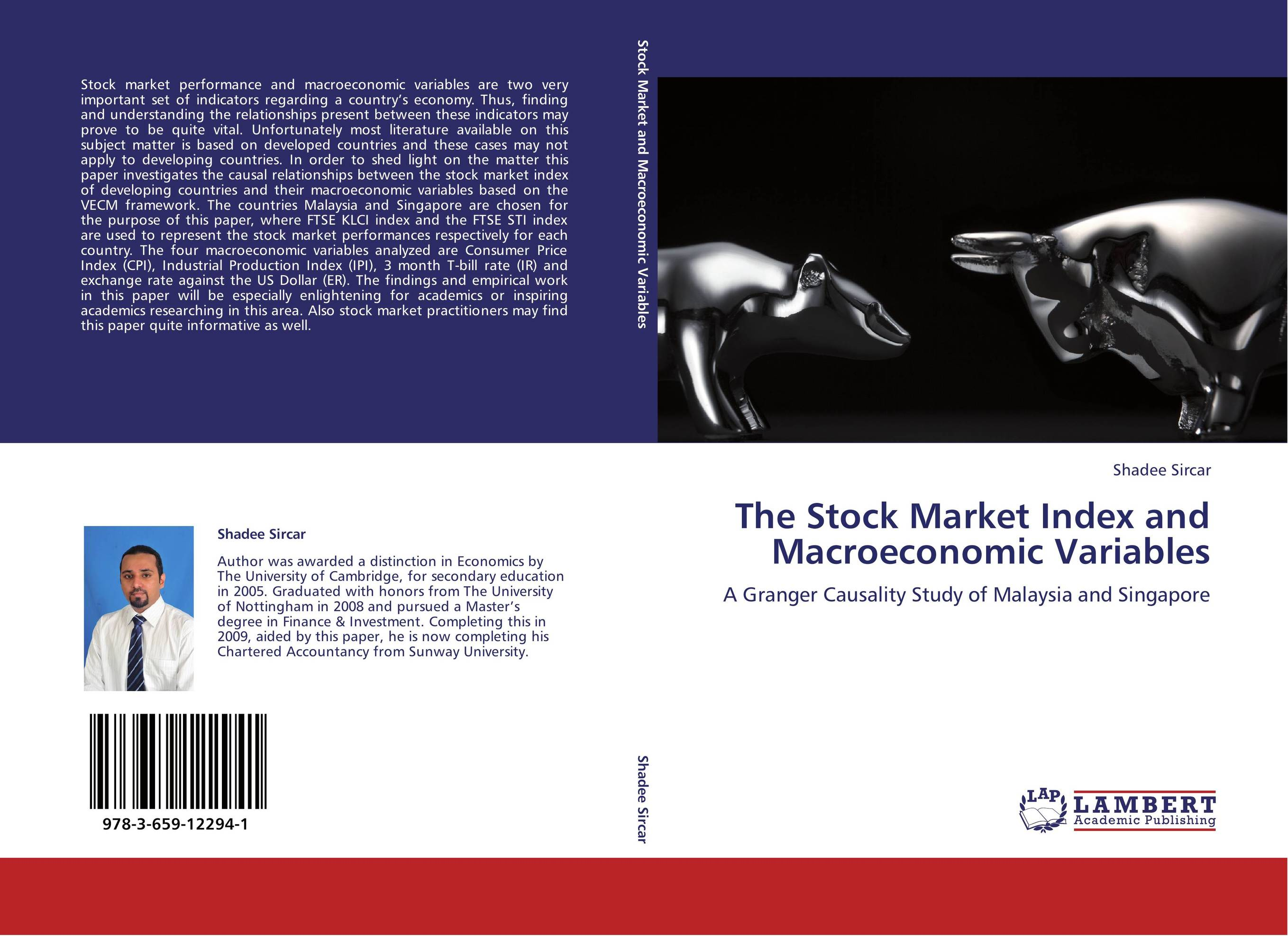 macroeconomic variables and stock market indices Variables that are expected to be strongly related to the stock market index we employ these variables, in a cointegration model, to compare and contrast the performance of the stock market index in the china and india.