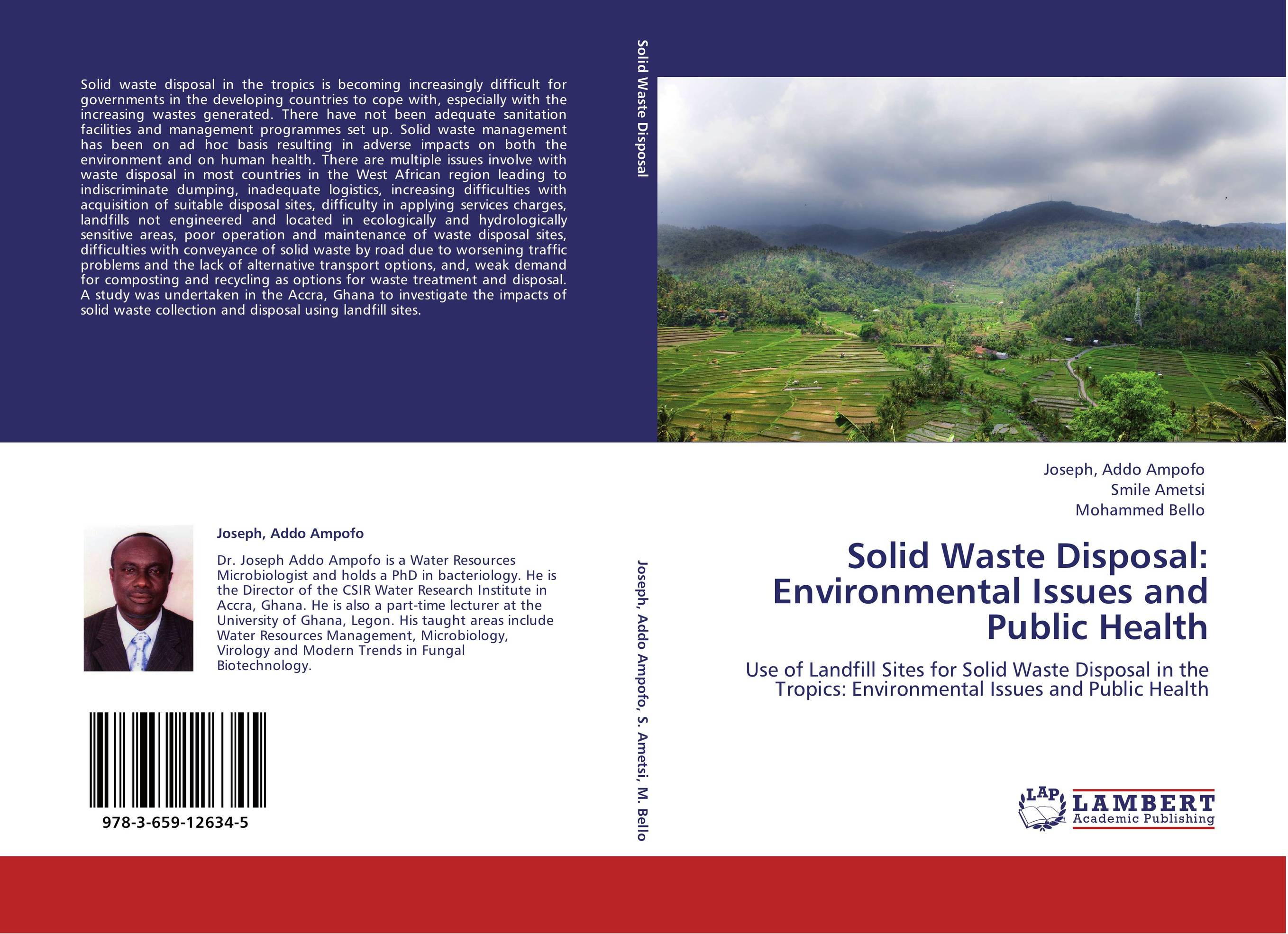 waste disposal its impact Open dumping of municipal solid waste and its hazardous impacts on soil and vegetation in the study area the waste disposal site is located near to the.