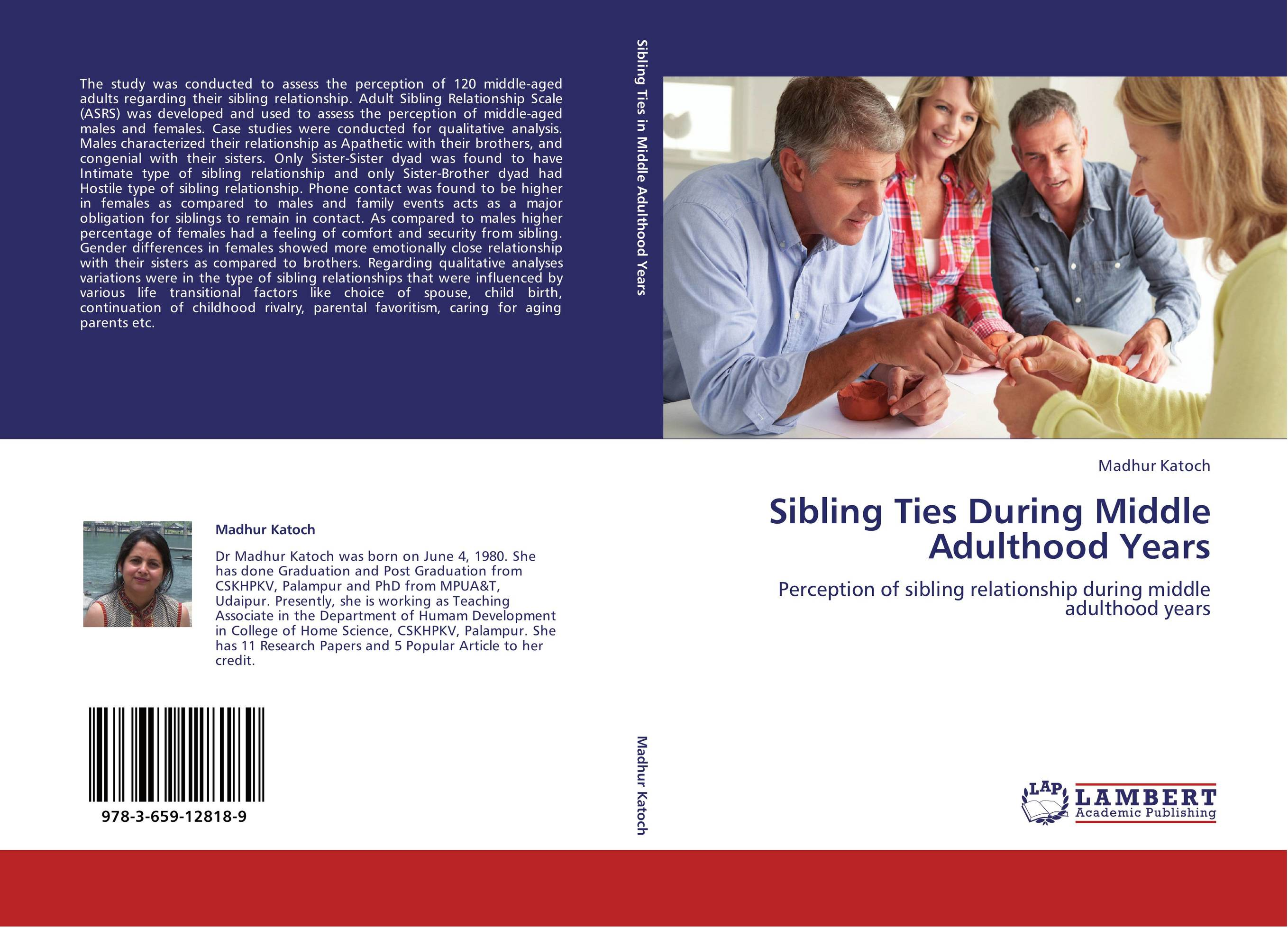 effect of early relationship during studying Three ideas rooted in the family literature of several disciplines motivate this project: 1) relationships early in life are socializing agents for later life social relationships 2) adolescent relationships from various domains are important for later social relationships and 3) content and quality of relationships, rather than mere.