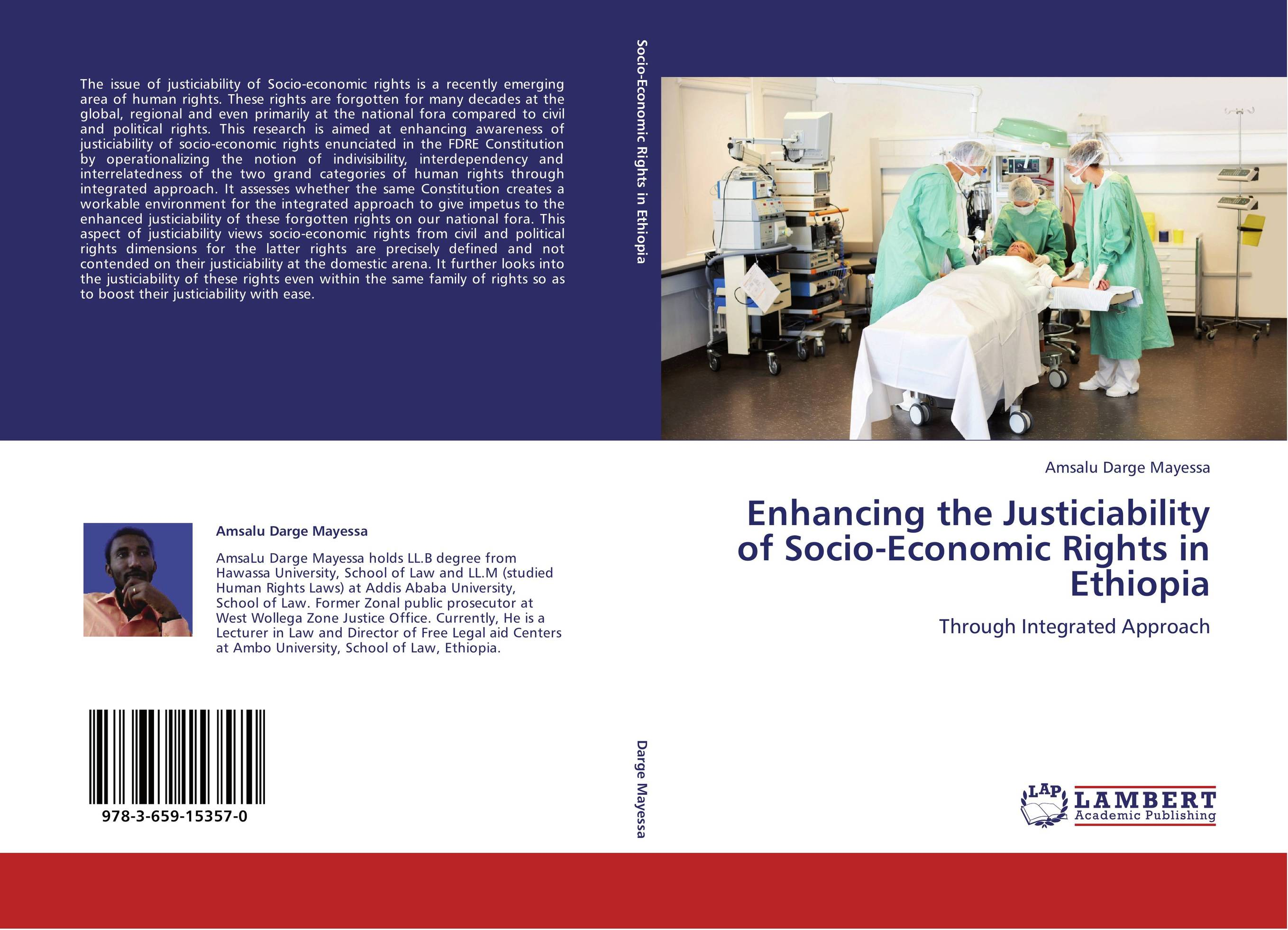 9783659153570 Enhancing the Justiciability of SocioEconomic Rigs in Ethiopia