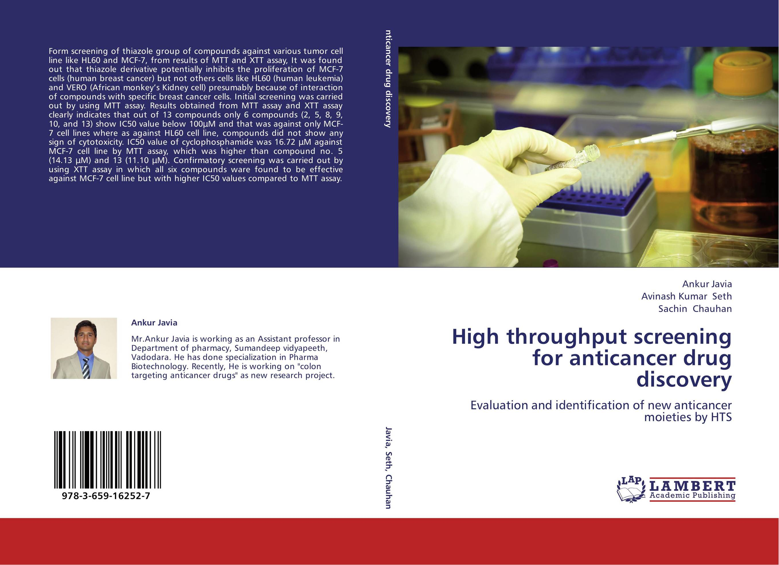 anticancer drug development evaluation of Primary anticancer drug screen as a potential replacement anticancer drug development totowa, nj 23 the nci in vitro anticancer drug discovery screen.