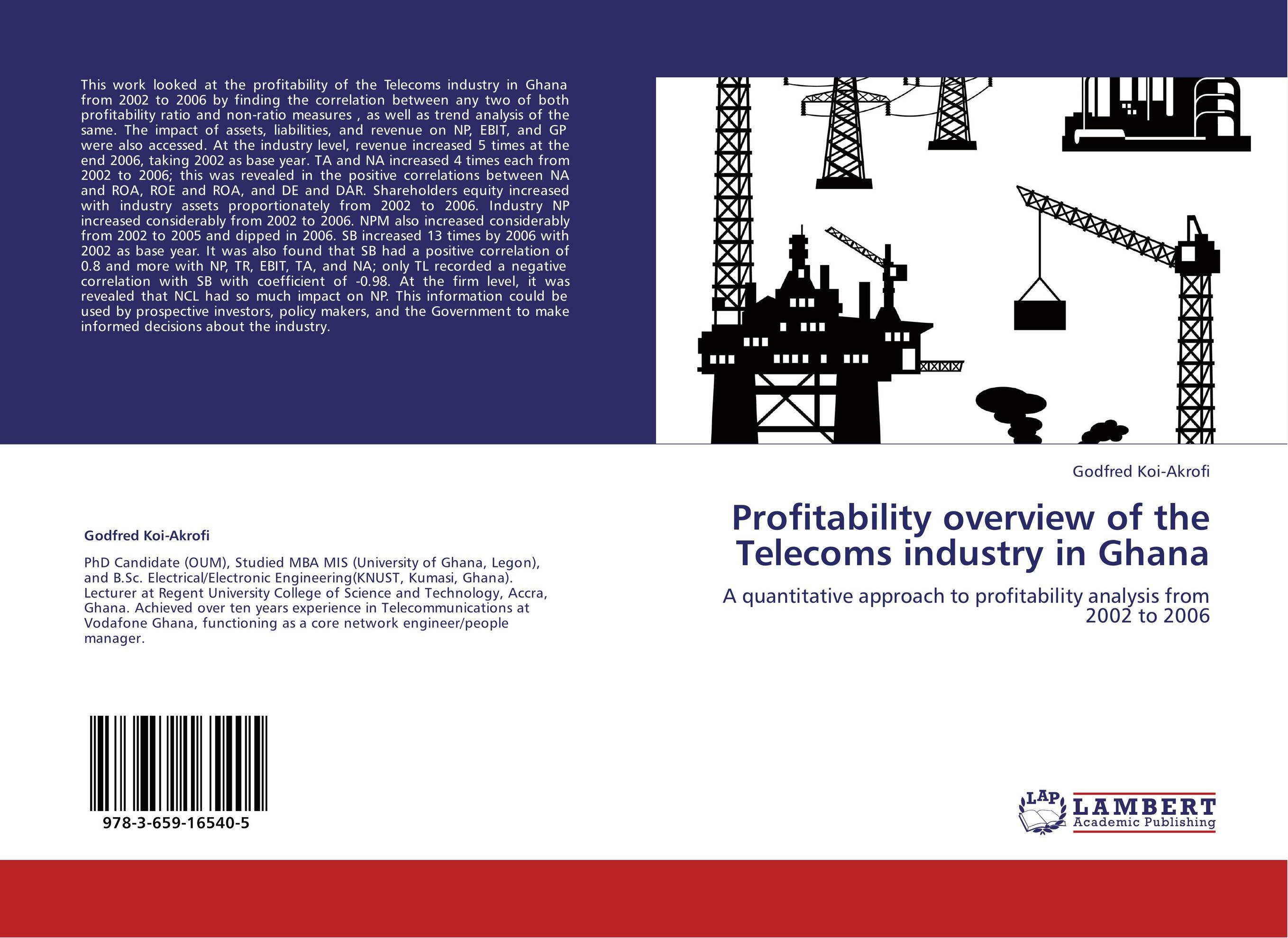analysis of telecomunication industry Findings - the analysis shows that the strongest competitive forces in the industry are rivalry among competitors and threat of substitutes originality/value - this study is one of the fewpapers that attempted to study the telecommunication industry in oman in depth.