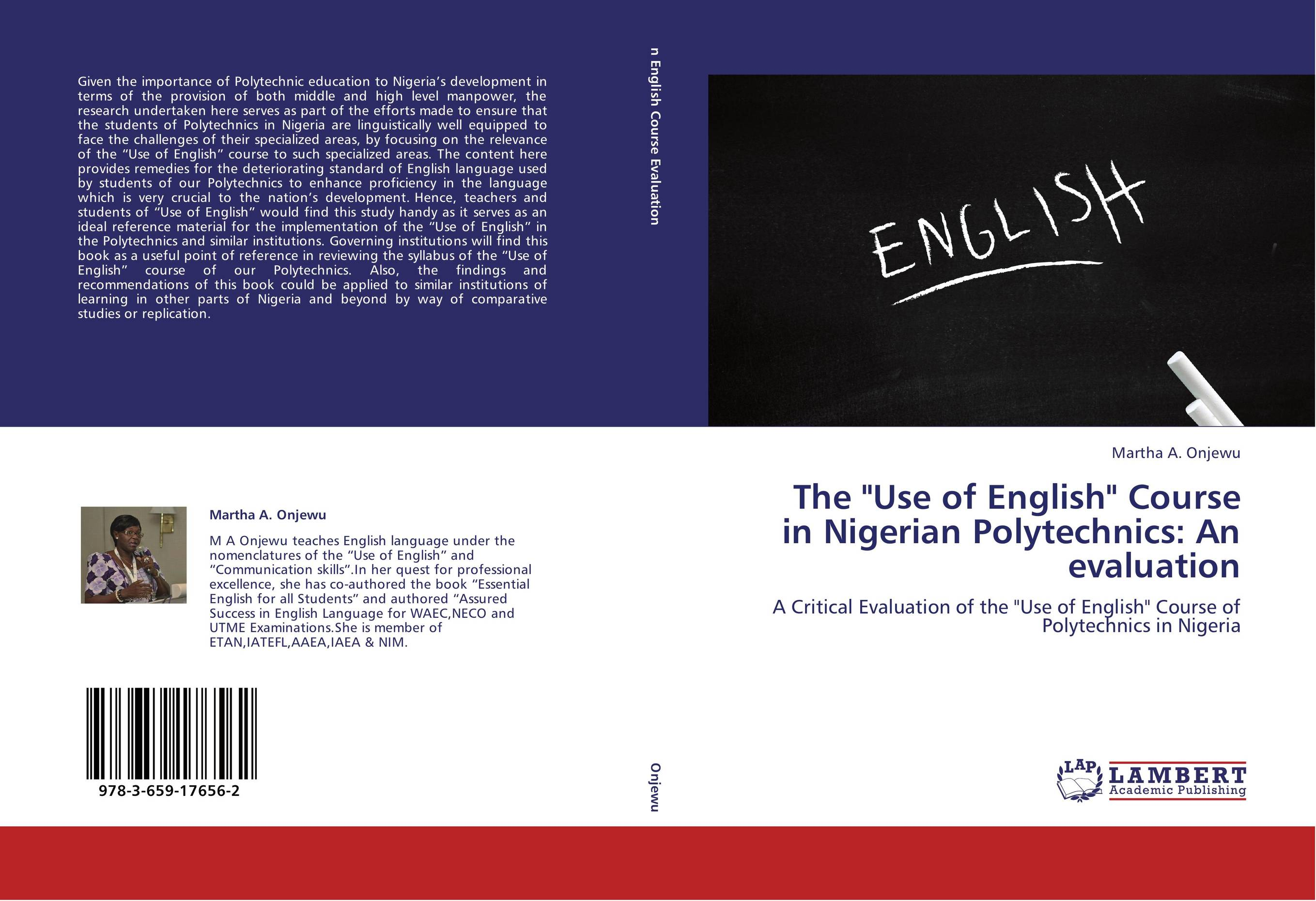 essay on polytechnic education in nigeria The tertiary education system in nigeria is composed of universities, polytechnics, institutions of technology, colleges of education, that form part of or affiliated.