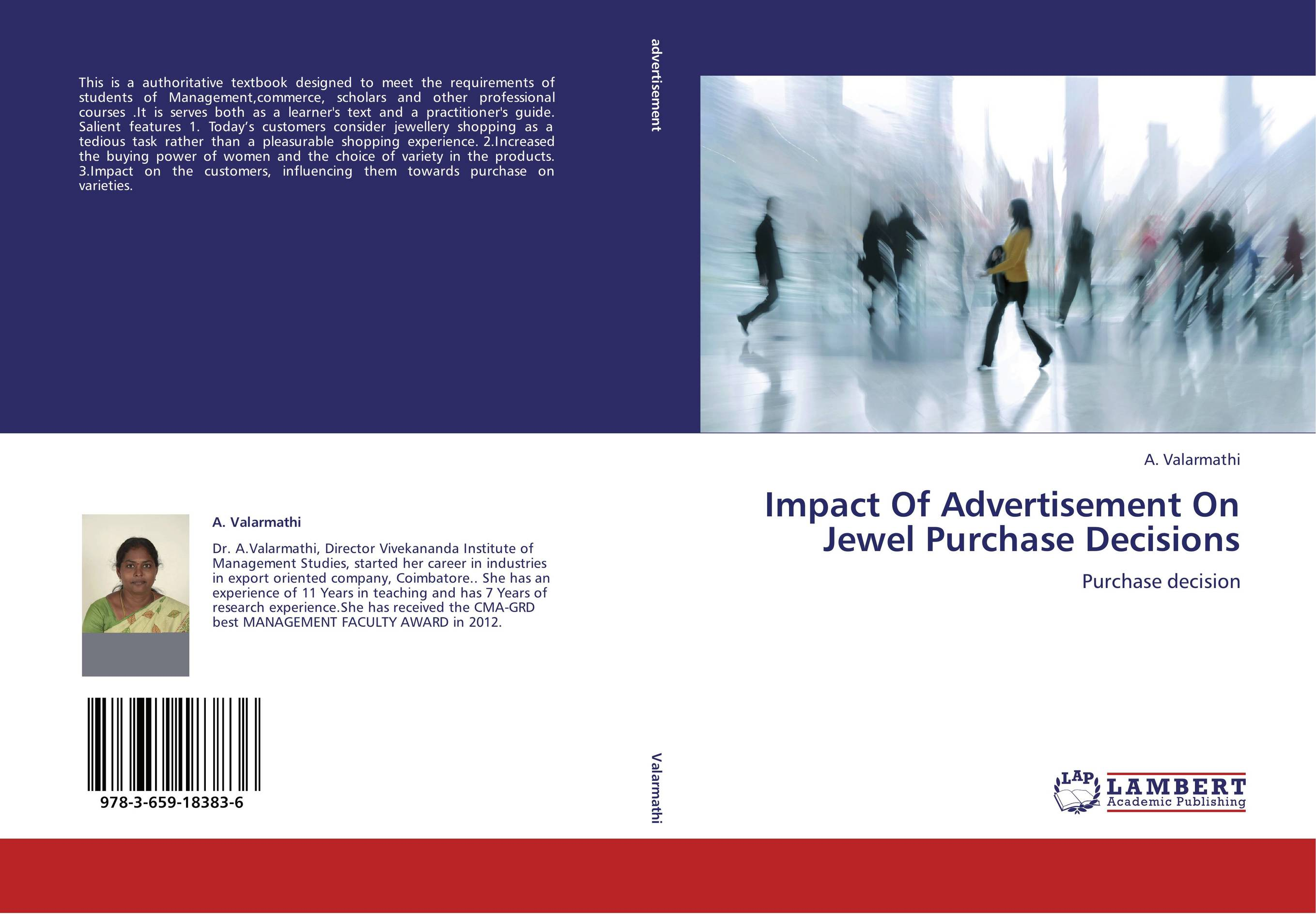 impact of advertisement on peoples decisions Consumer behavior: how people make buying the companies that pay for search advertising  you are probably also making other decisions at this stage.