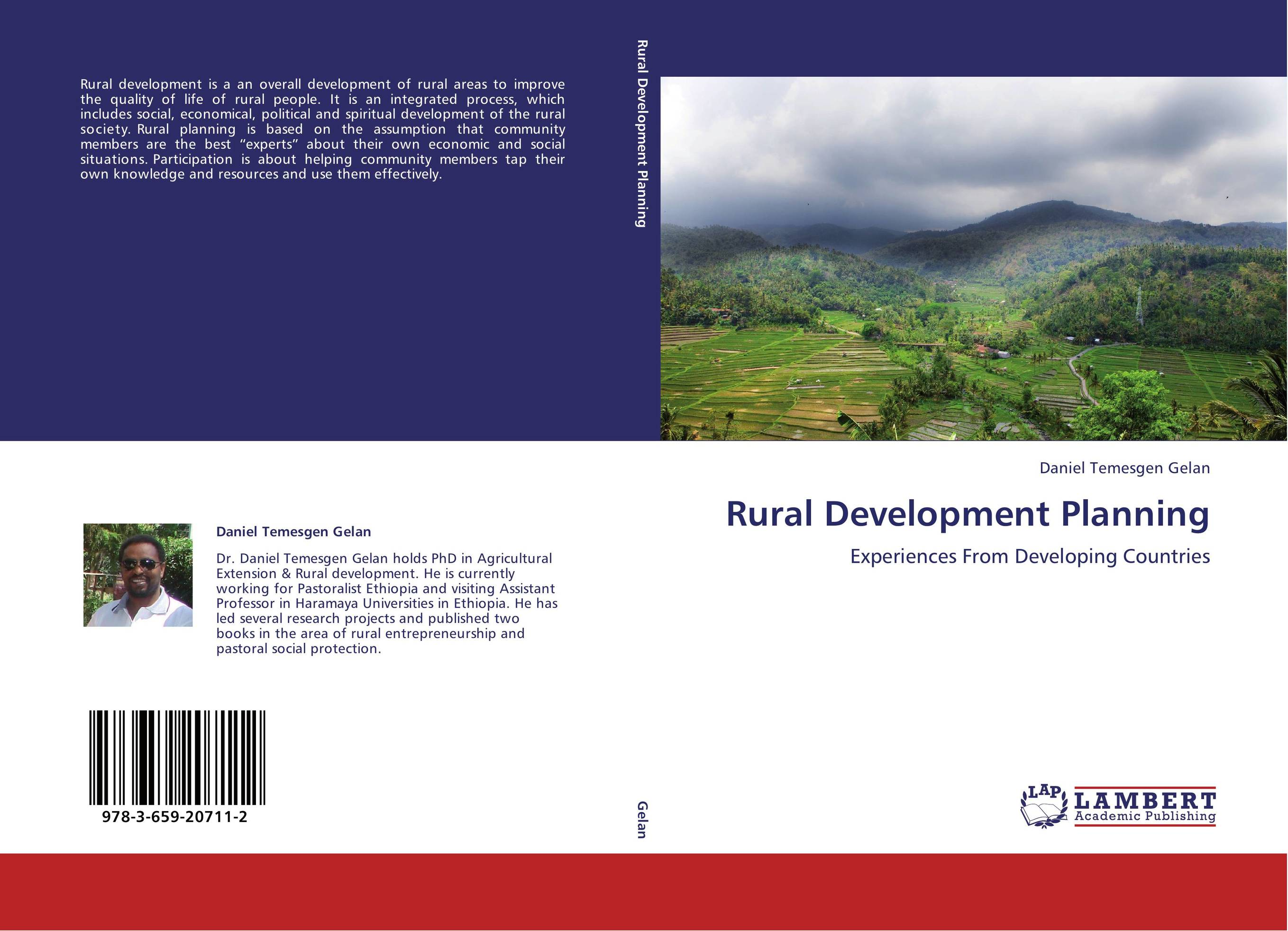 9783659207112 Rural Development Planning Daniel Temesgen Gelan